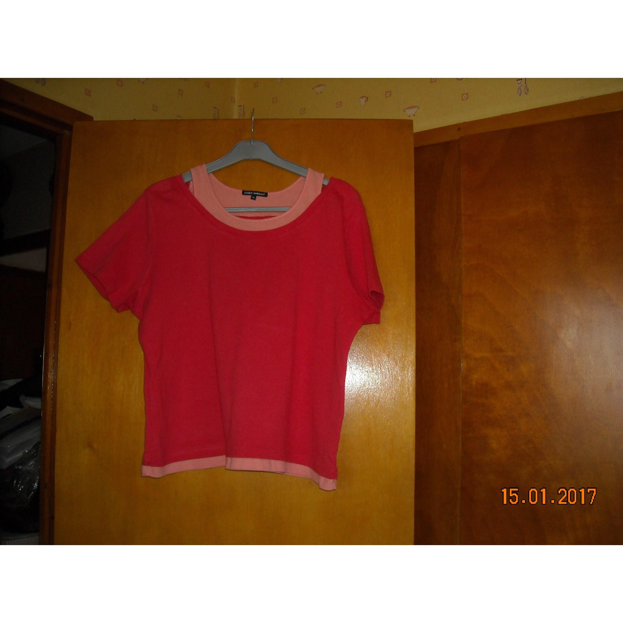 Top, tee-shirt DEBBIE MORGAN Orange
