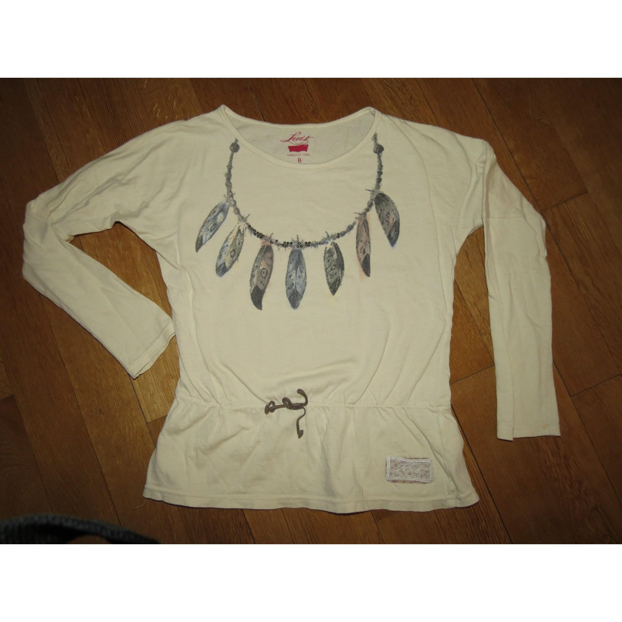 Top, Tee-shirt LEVI'S Beige, camel