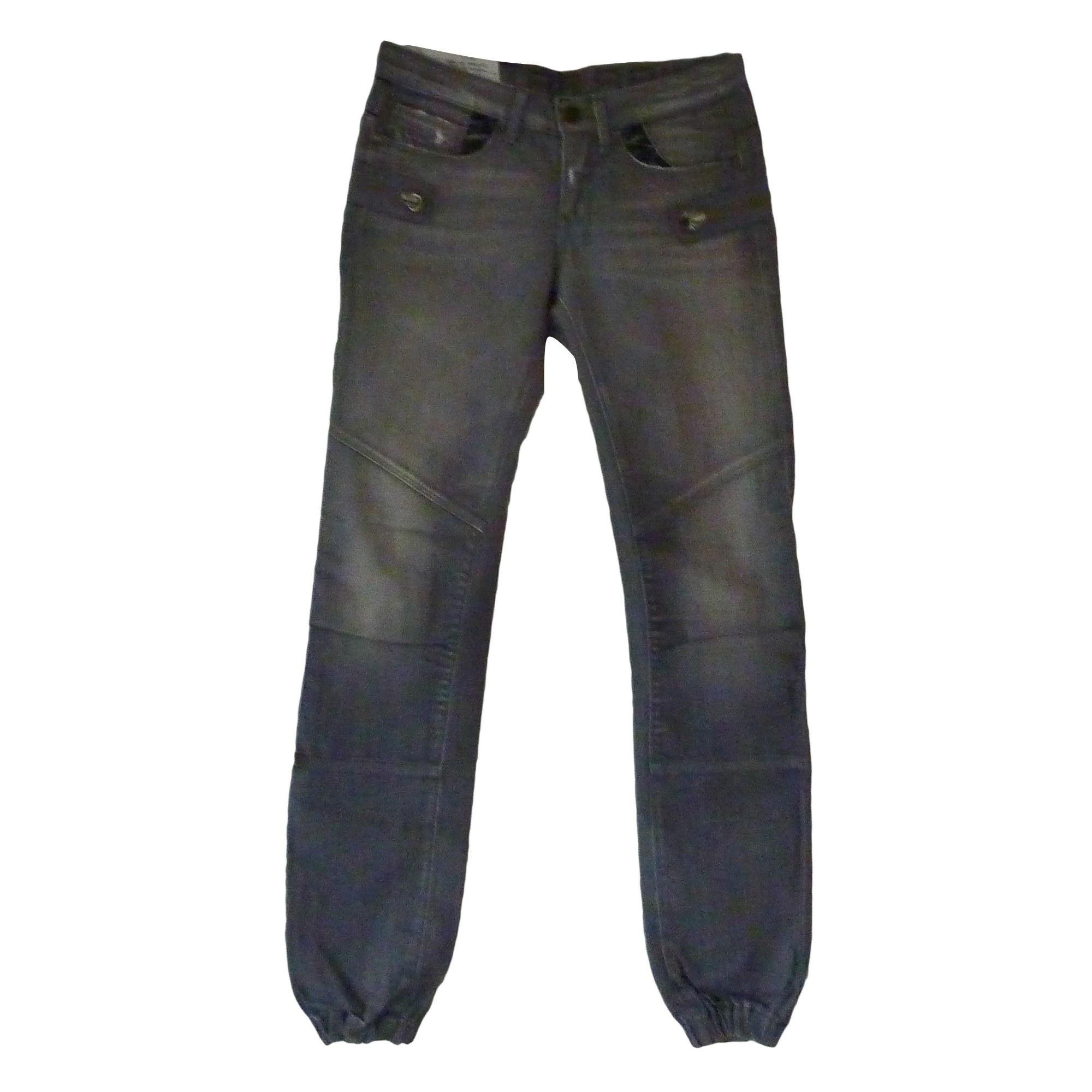 Jeans large, boyfriend G-STAR Gris, anthracite