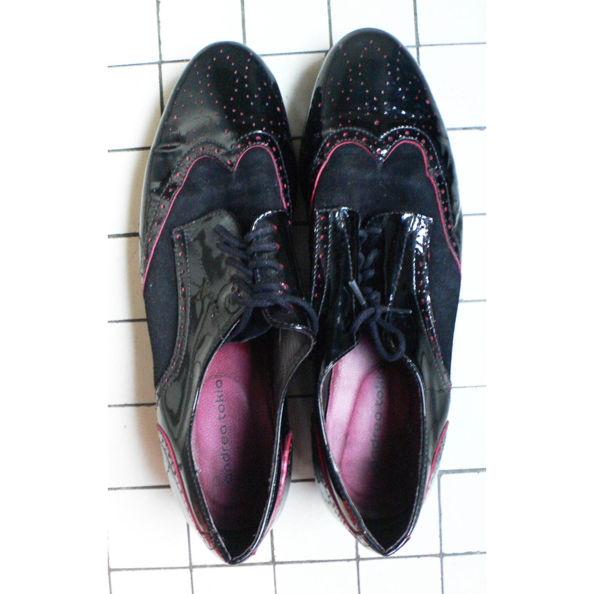 Chaussures à lacets  ANDREA TOKIO Noir