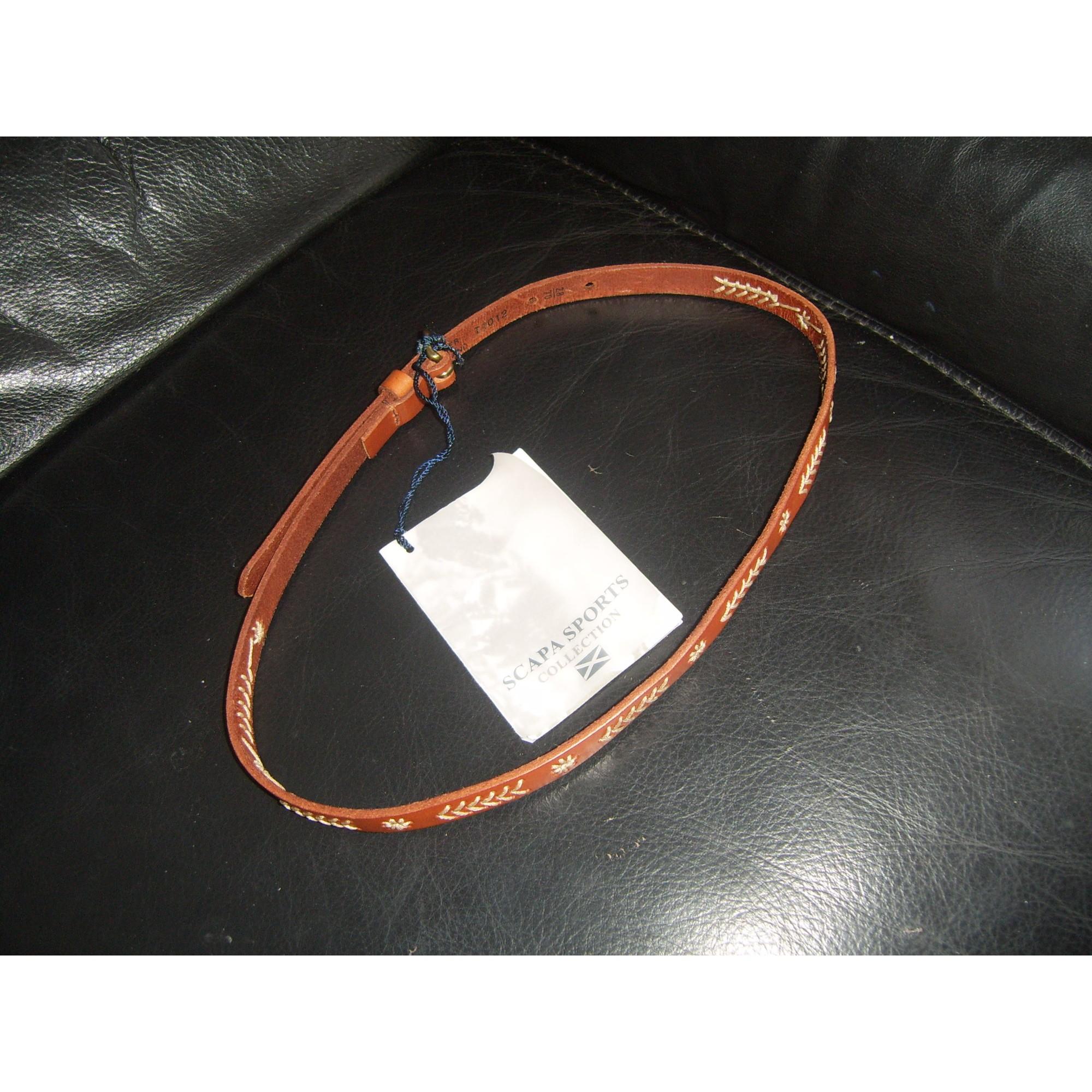 Belt SCAPA SPORT brun fauve