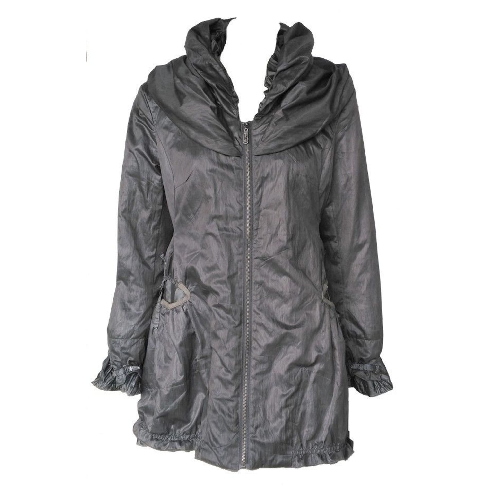 Imperméable, trench ALEXO Gris, anthracite