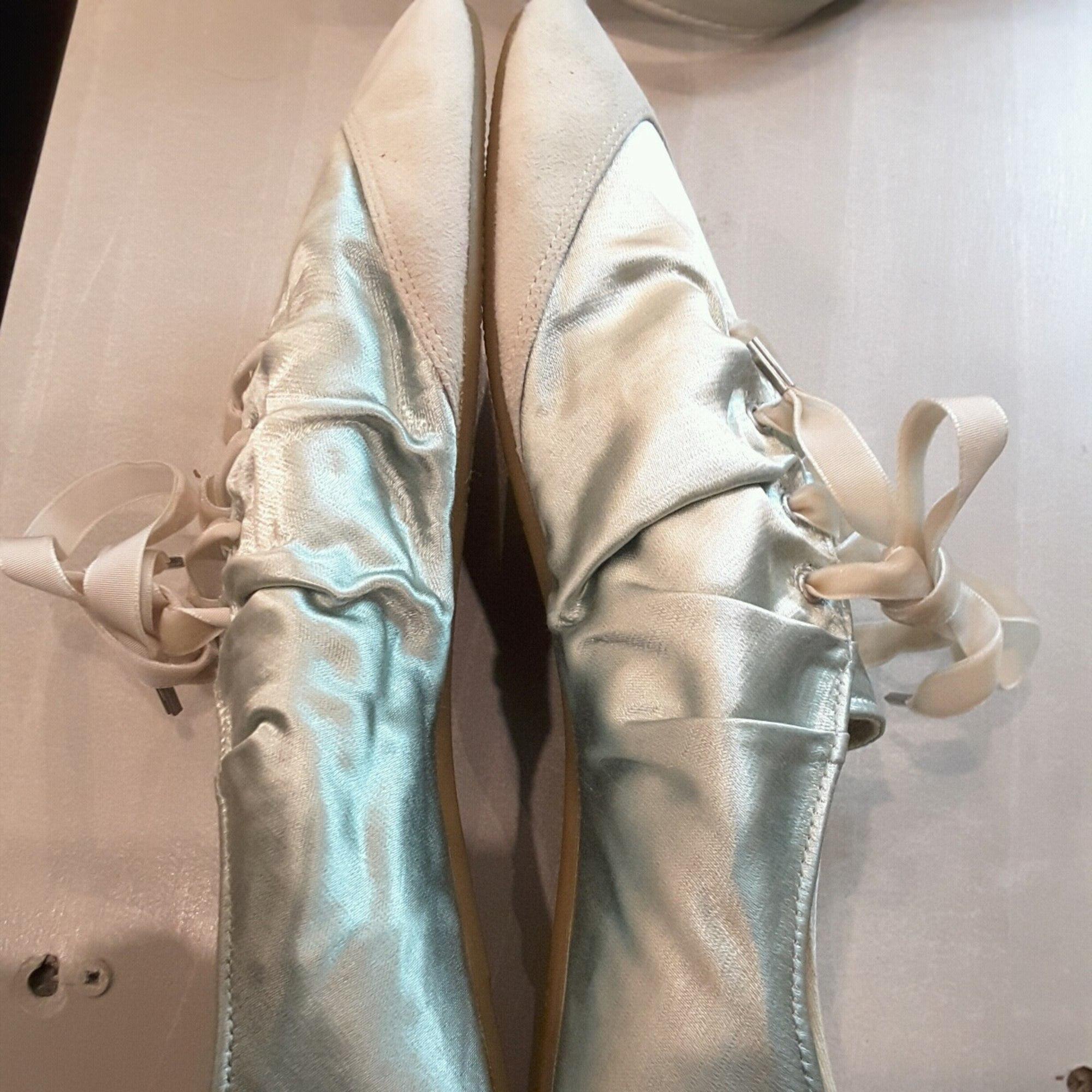 Chaussures de danse  ASH vert aqua tres clair