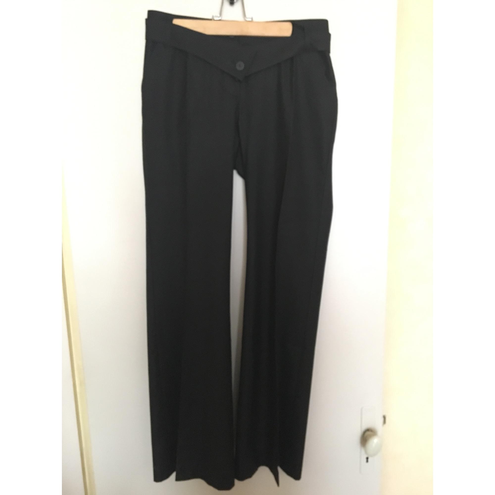 Pantalon droit COP-COPINE Noir