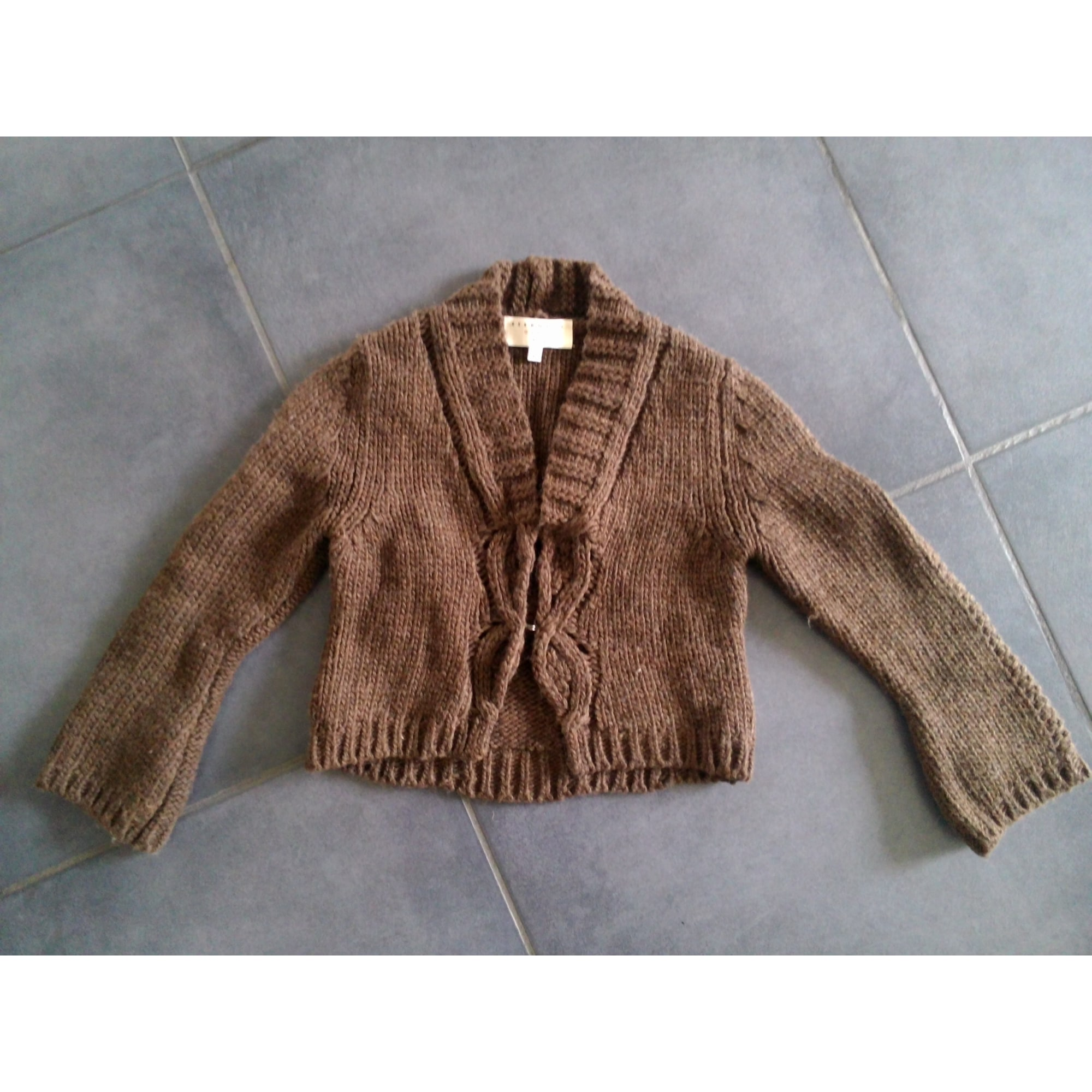 Gilet, cardigan ESSENTIEL ANTWERP Marron