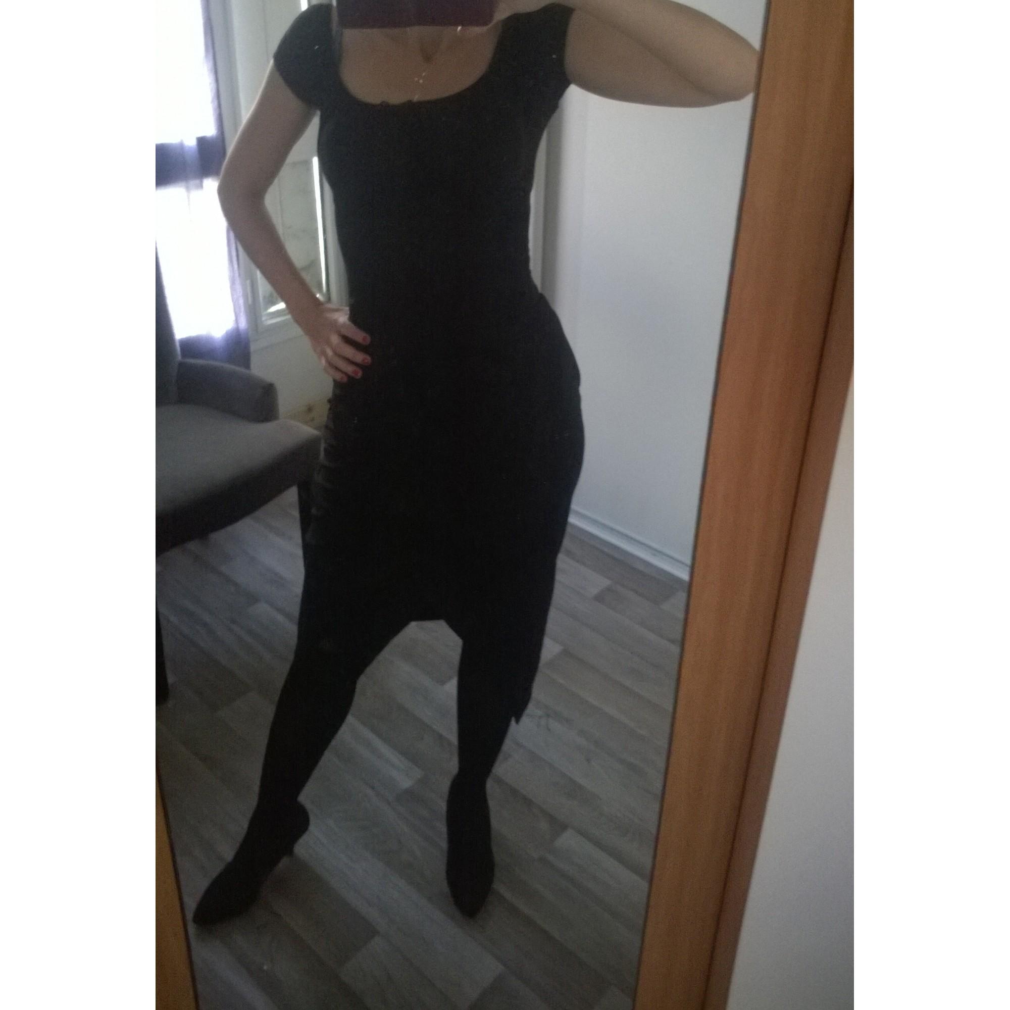 Jupe mi-longue MORGAN Noir