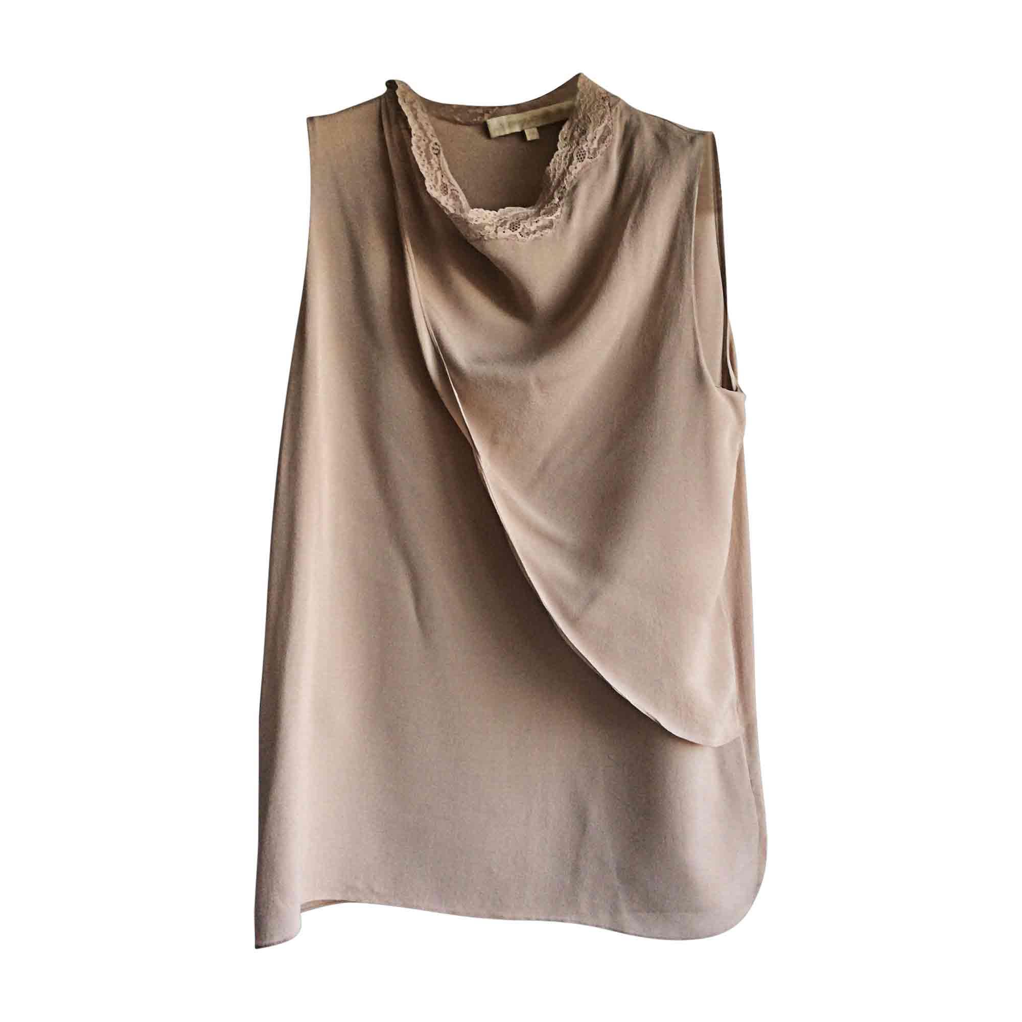 Top, tee-shirt VANESSA BRUNO Beige, camel