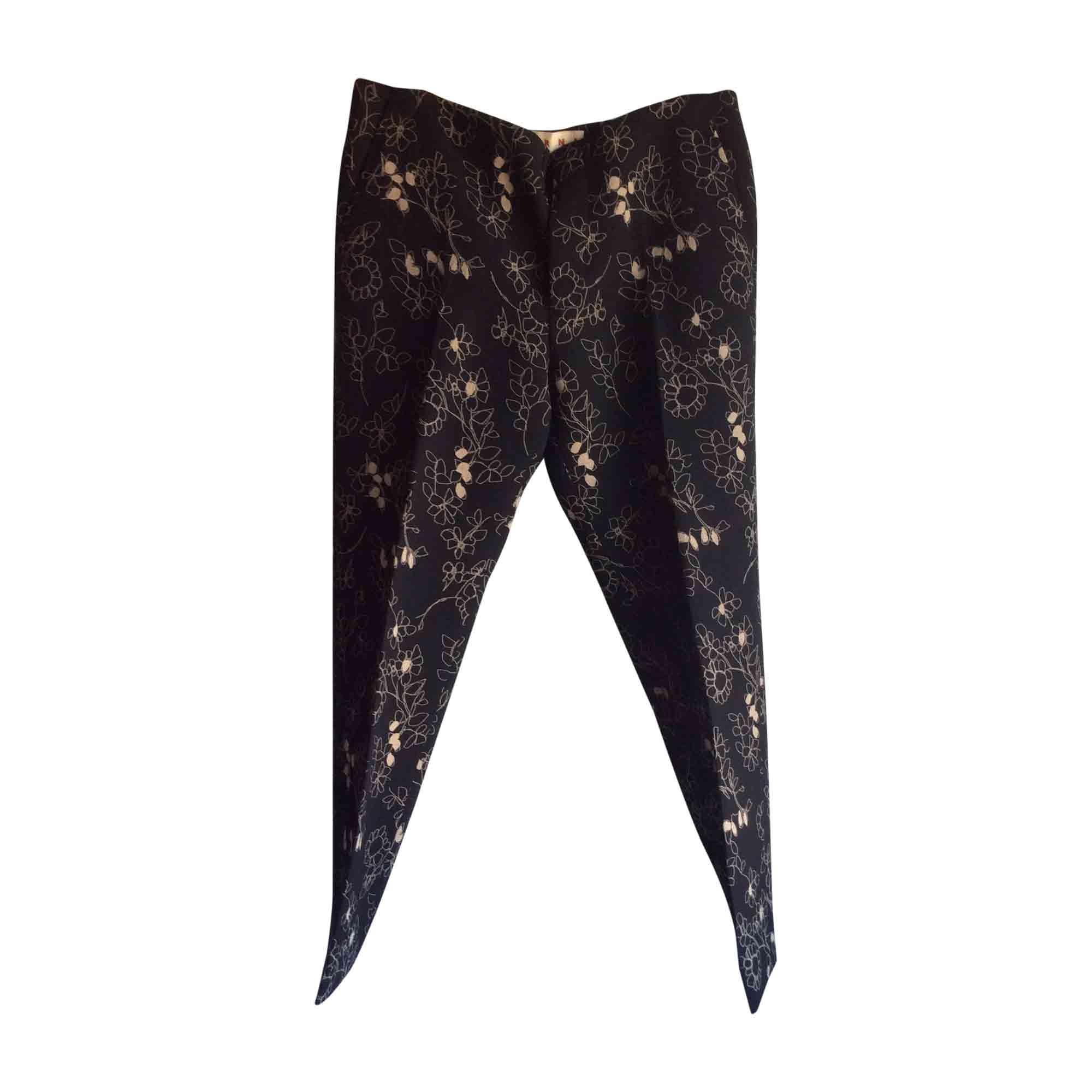 Pantalon droit MARNI Multicouleur