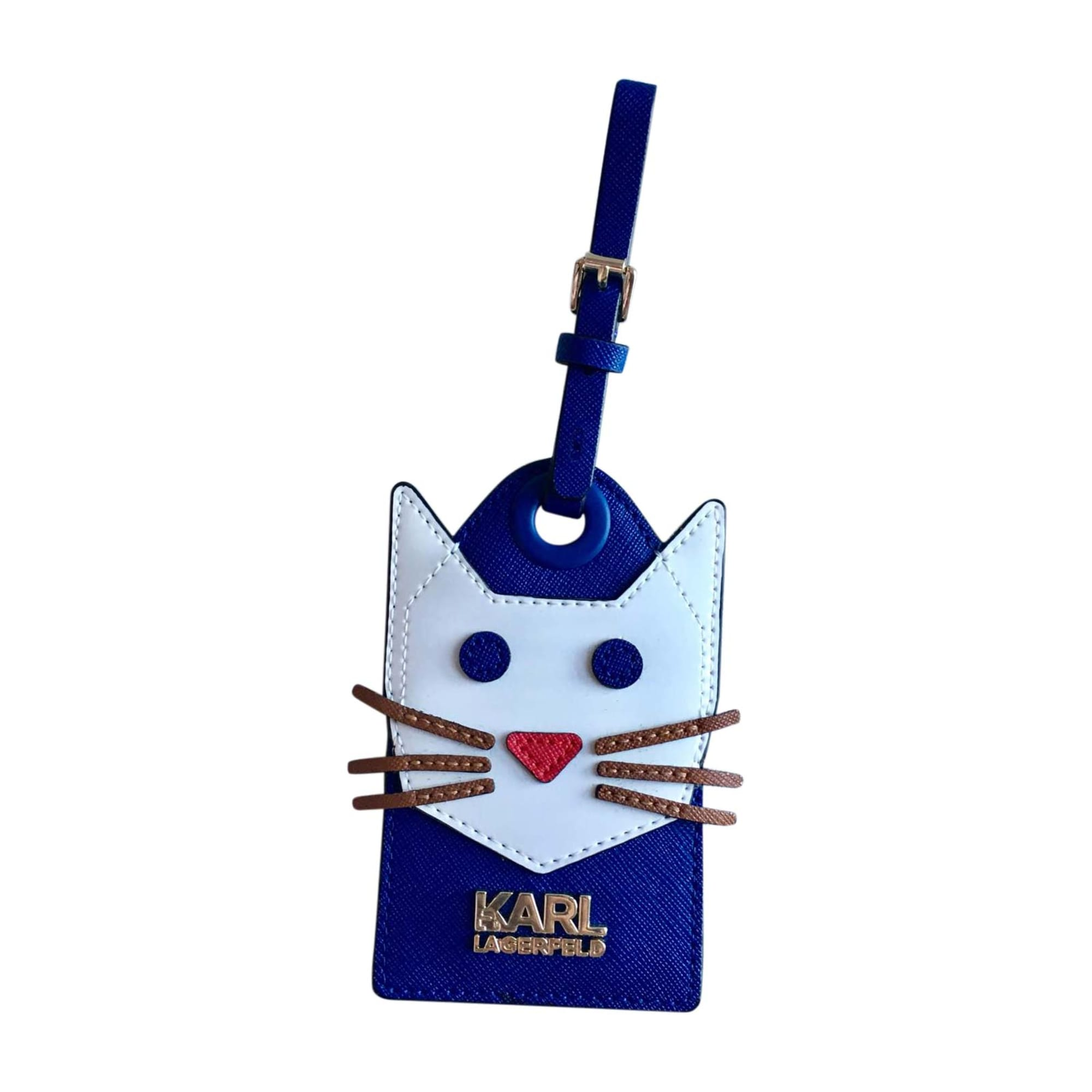 Porte-clés KARL LAGERFELD Bleu, bleu marine, bleu turquoise