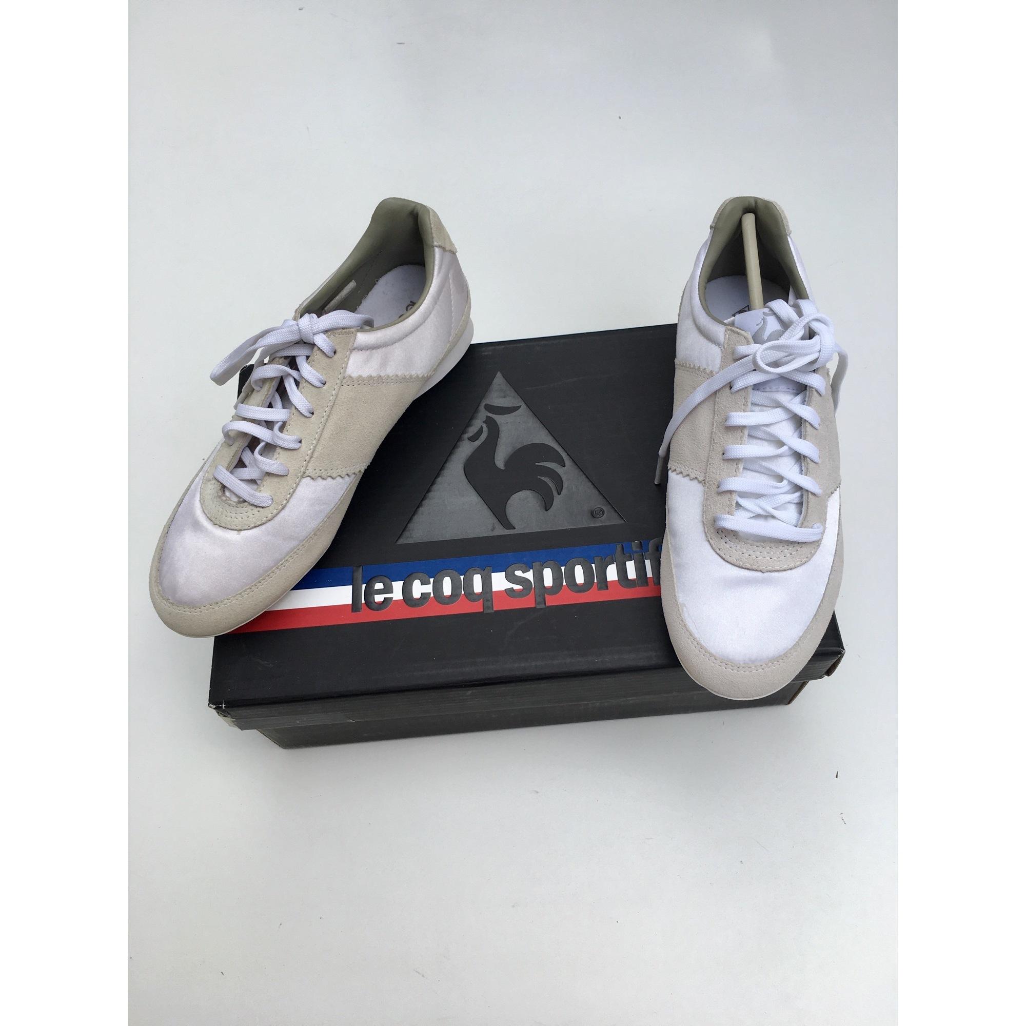 Chaussures de sport LE COQ SPORTIF Blanc, blanc cassé, écru