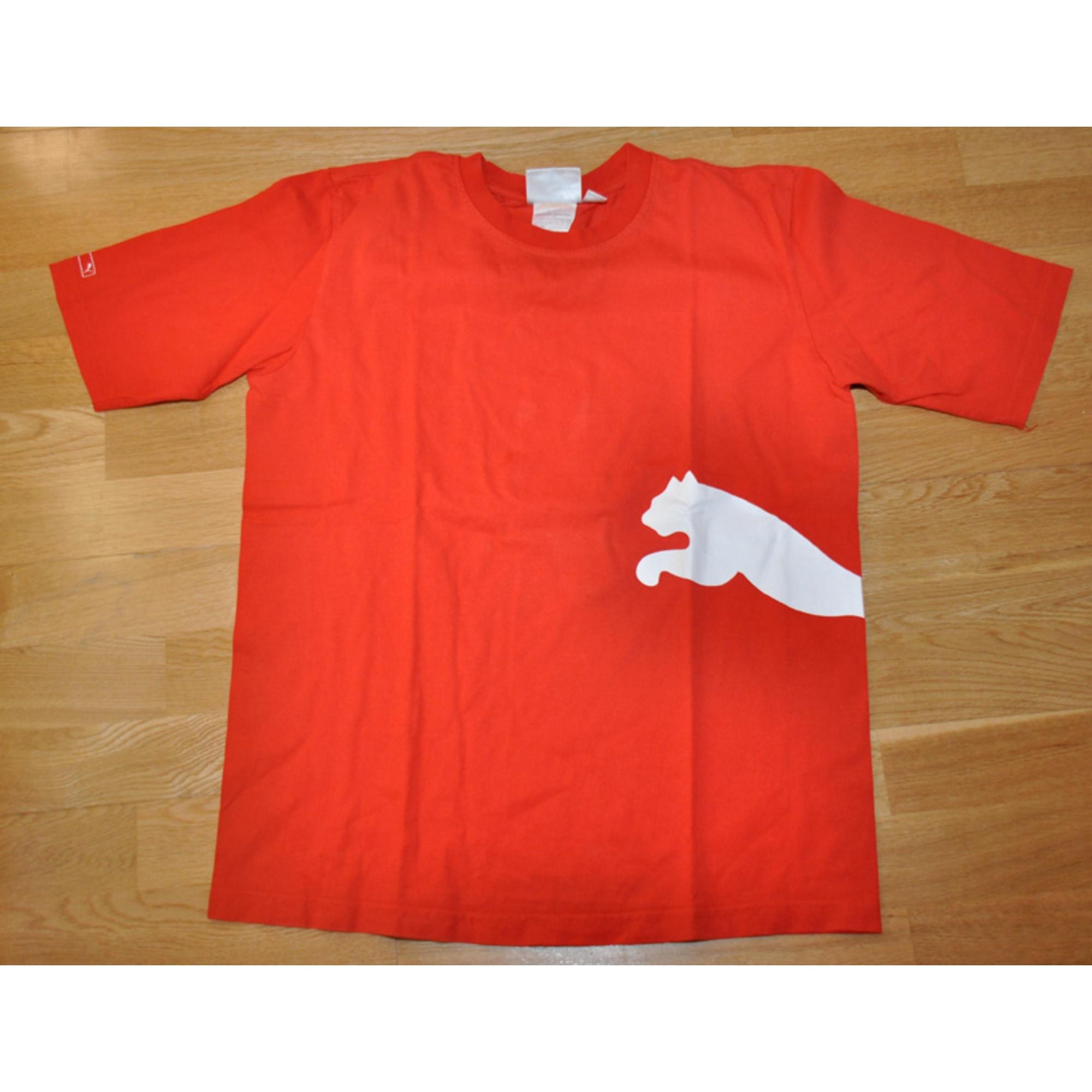 Tee-shirt PUMA Rouge, bordeaux