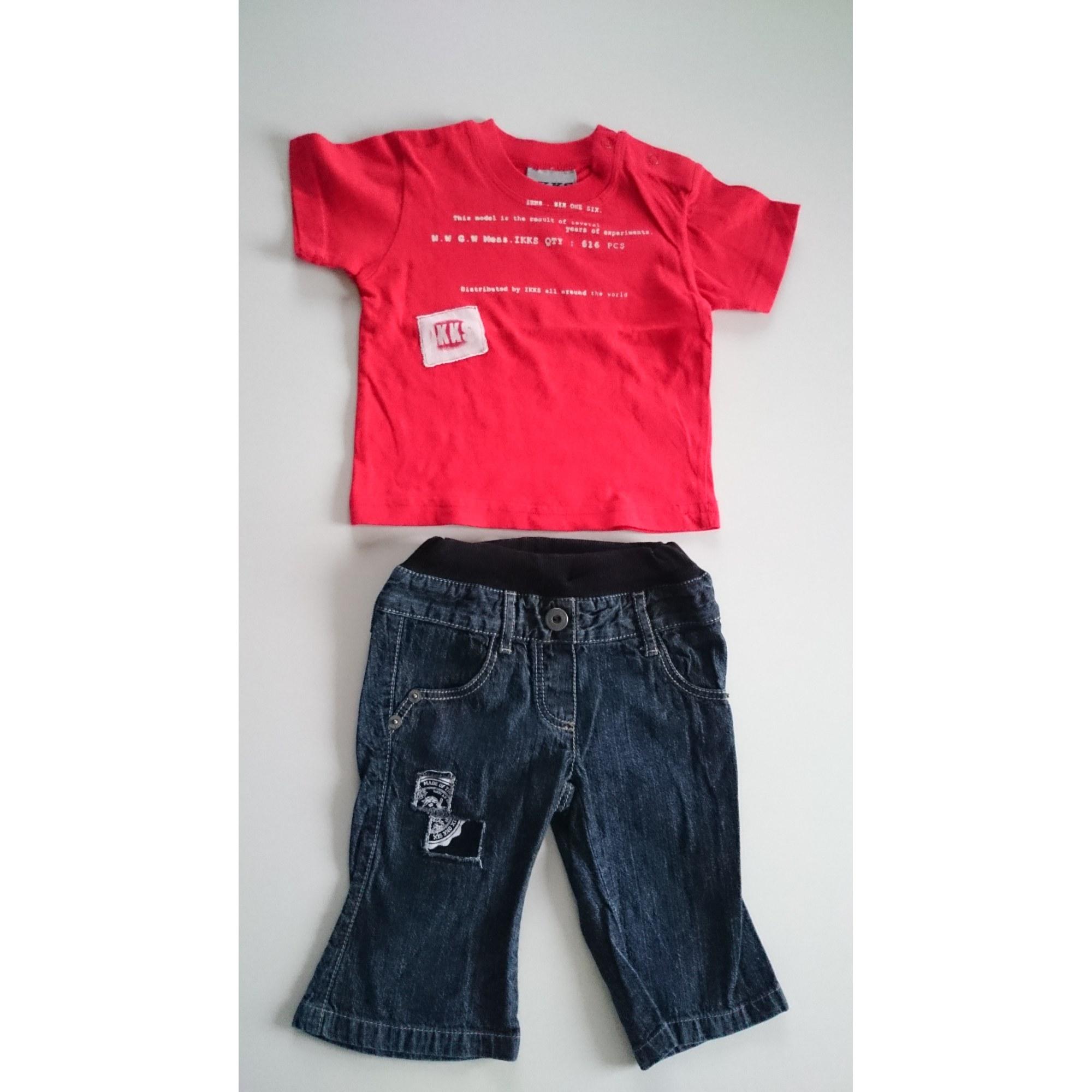 Ensemble & Combinaison pantalon IKKS Rouge, bordeaux
