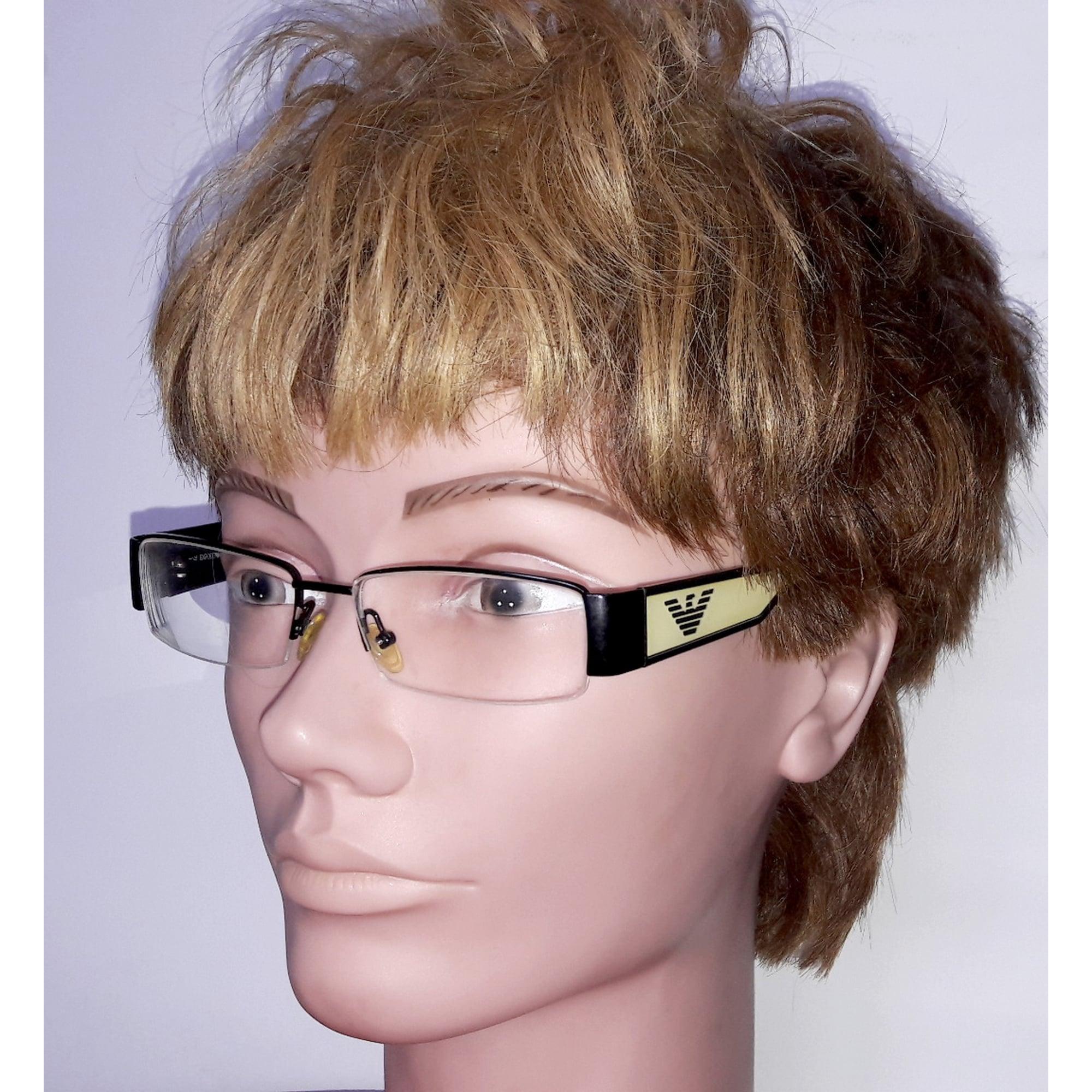 Eyeglass Frames EMPORIO ARMANI noir et crème