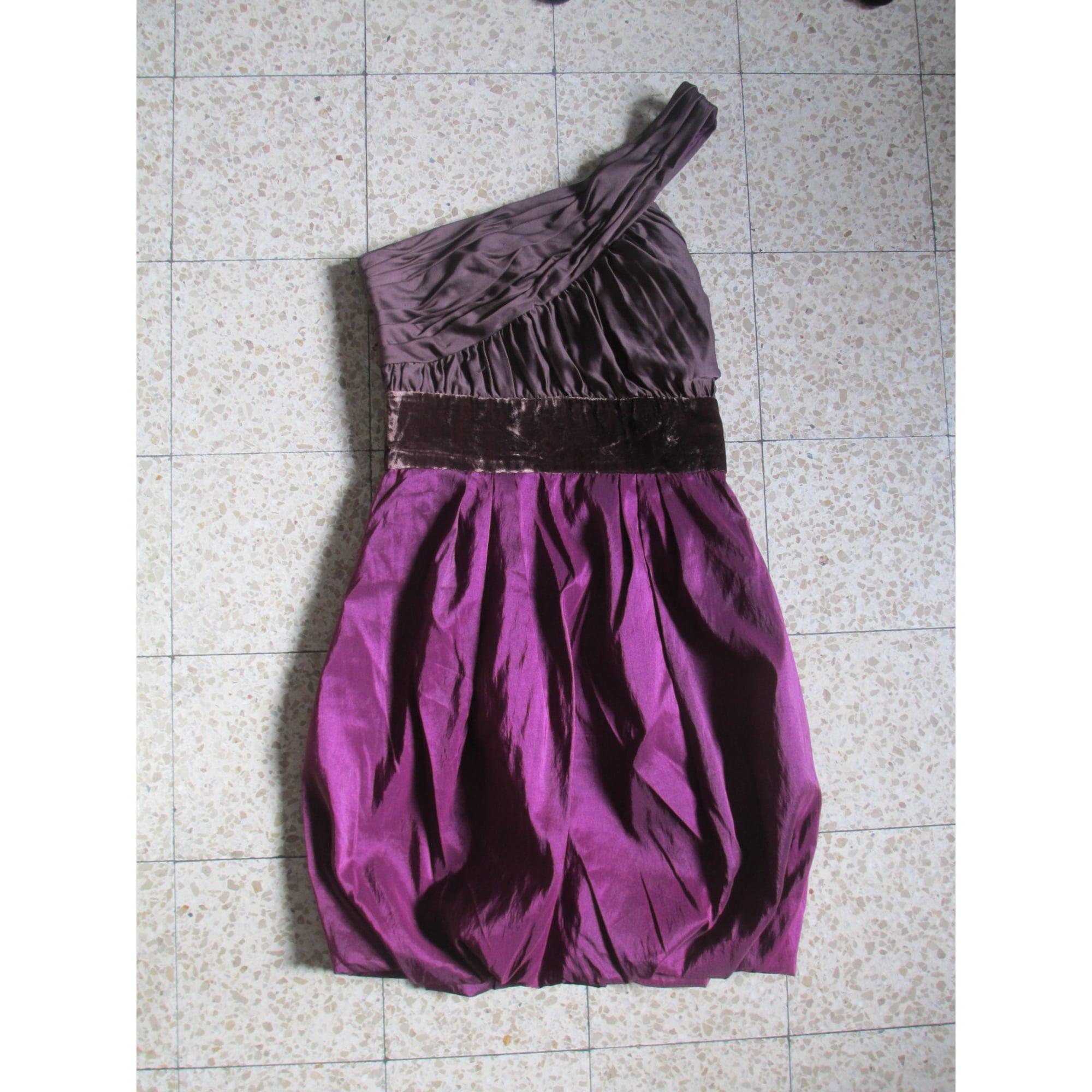 Robe courte ALAIN MANOUKIAN Rose, fuschia, vieux rose