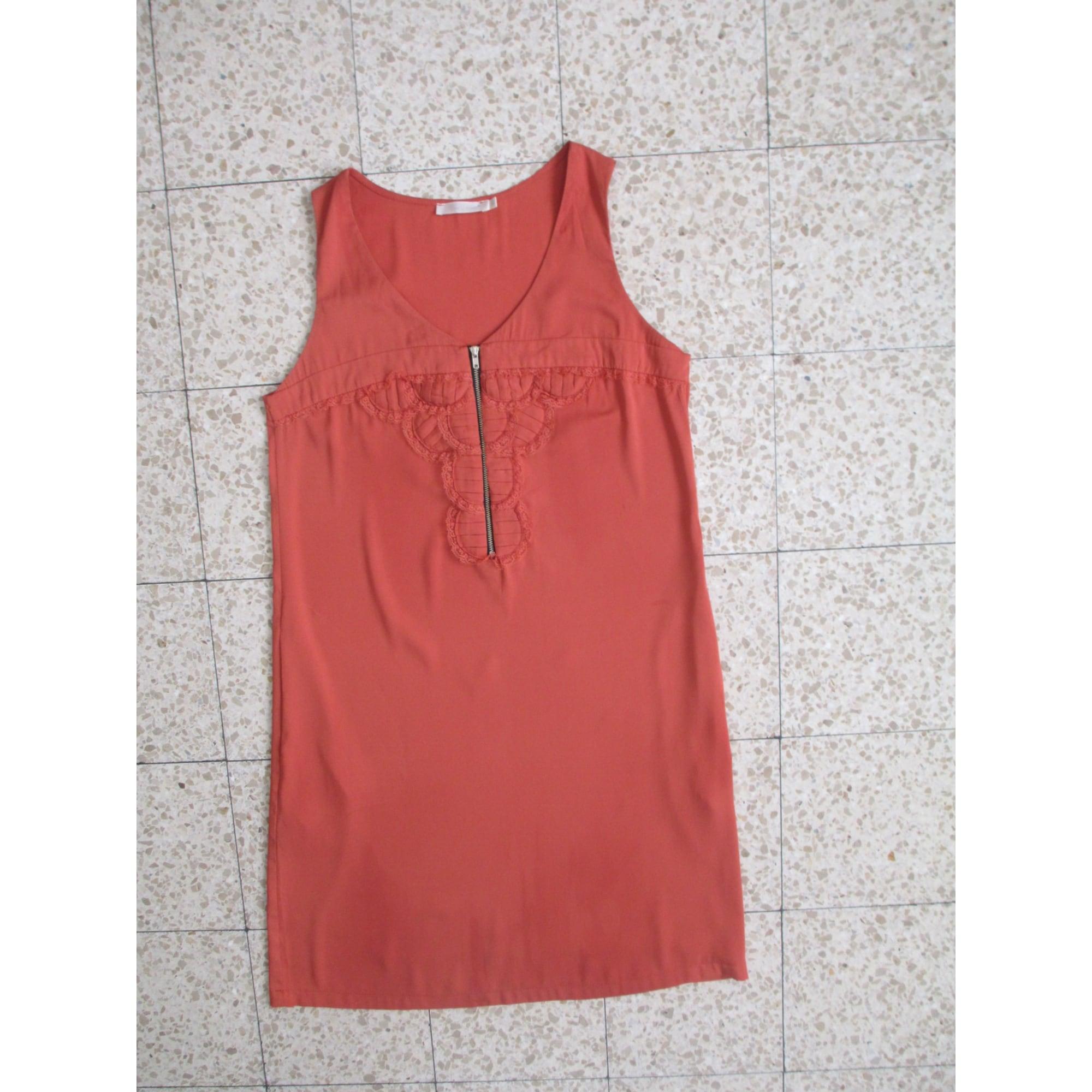 Robe courte SEE U SOON Orange