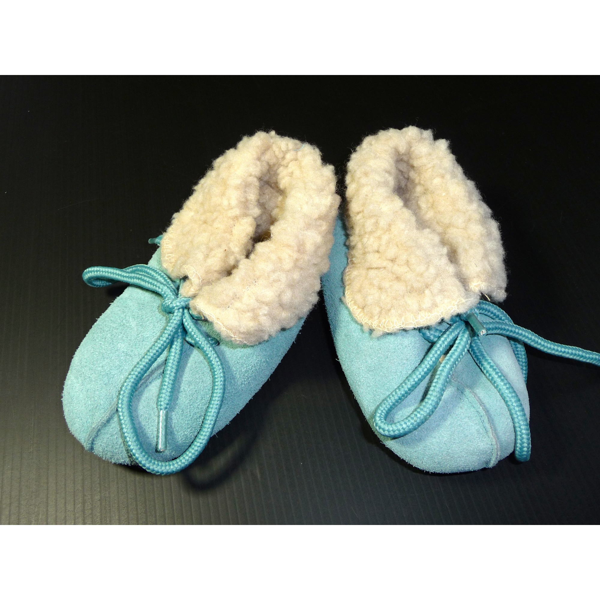 Slippers MARQUE INCONNUE Blue, navy, turquoise