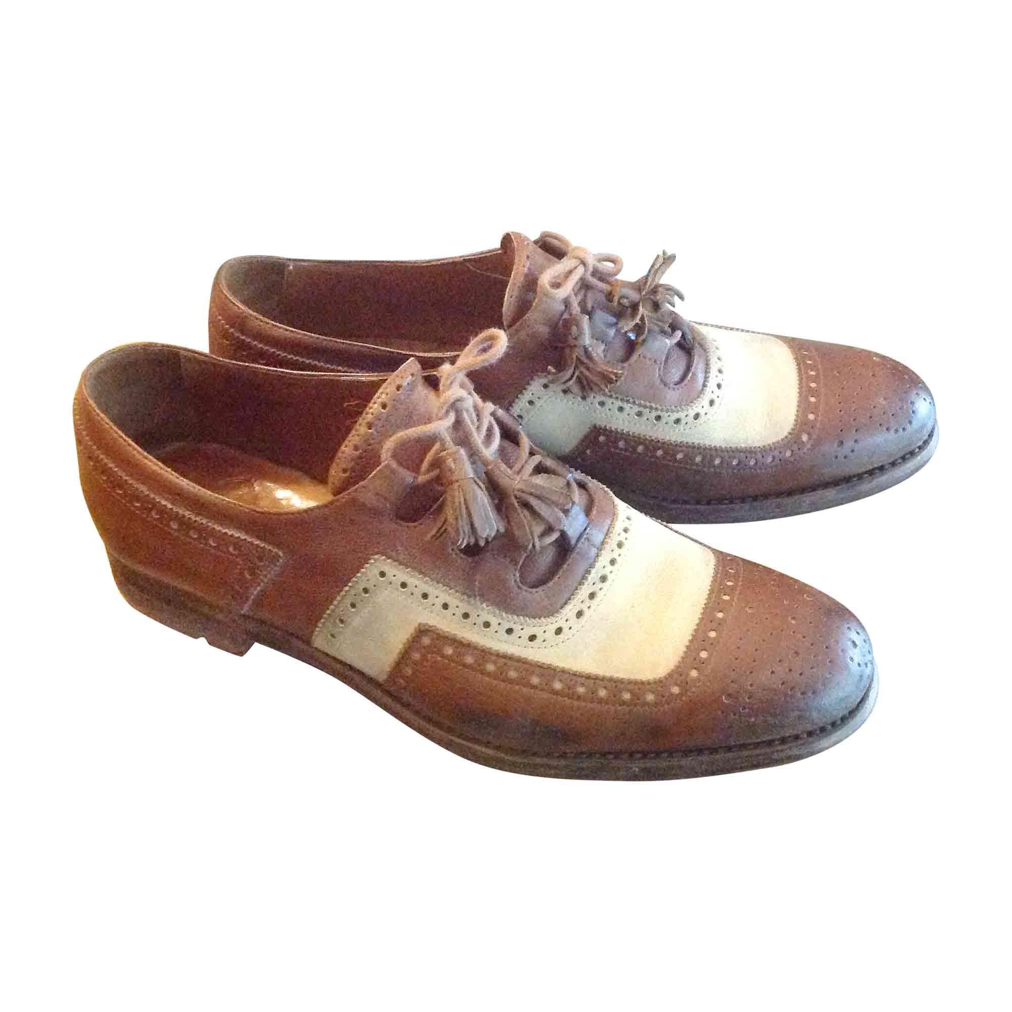 Chaussures à lacets  CHURCH'S Beige, camel