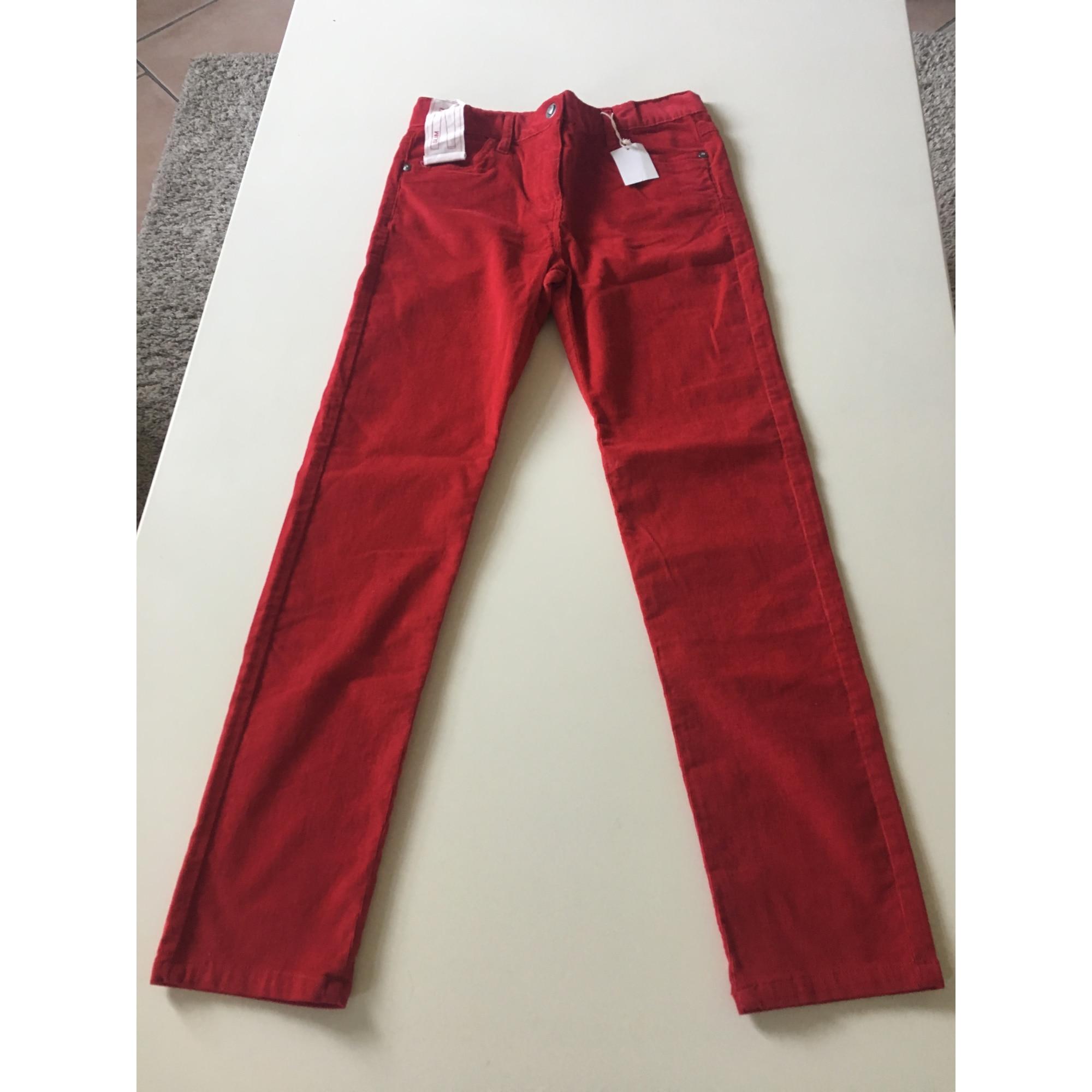 Pantalon KID'S GRAFFITI Rouge, bordeaux