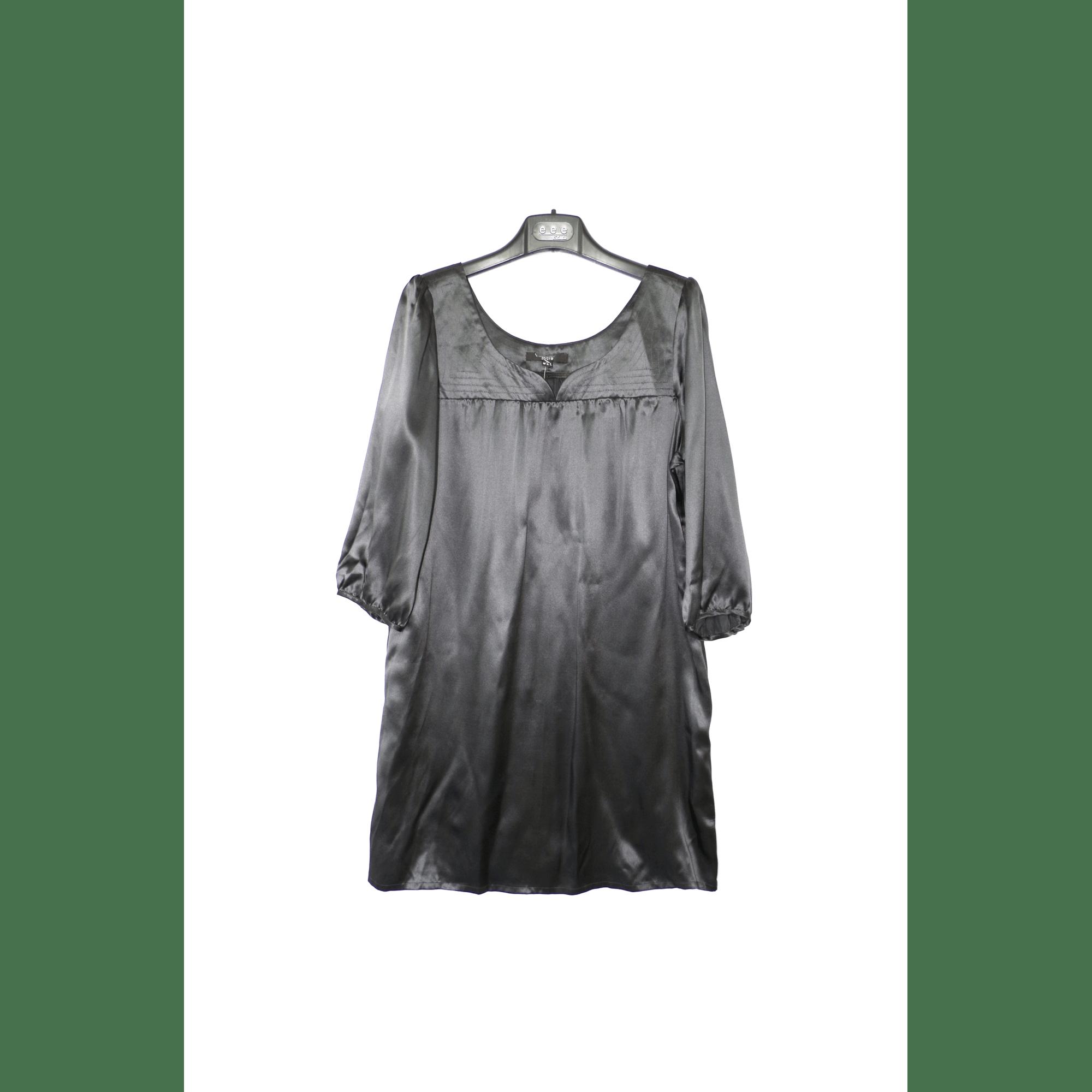 Robe Tunique C A 42 L Xl T4 Gris 5981516