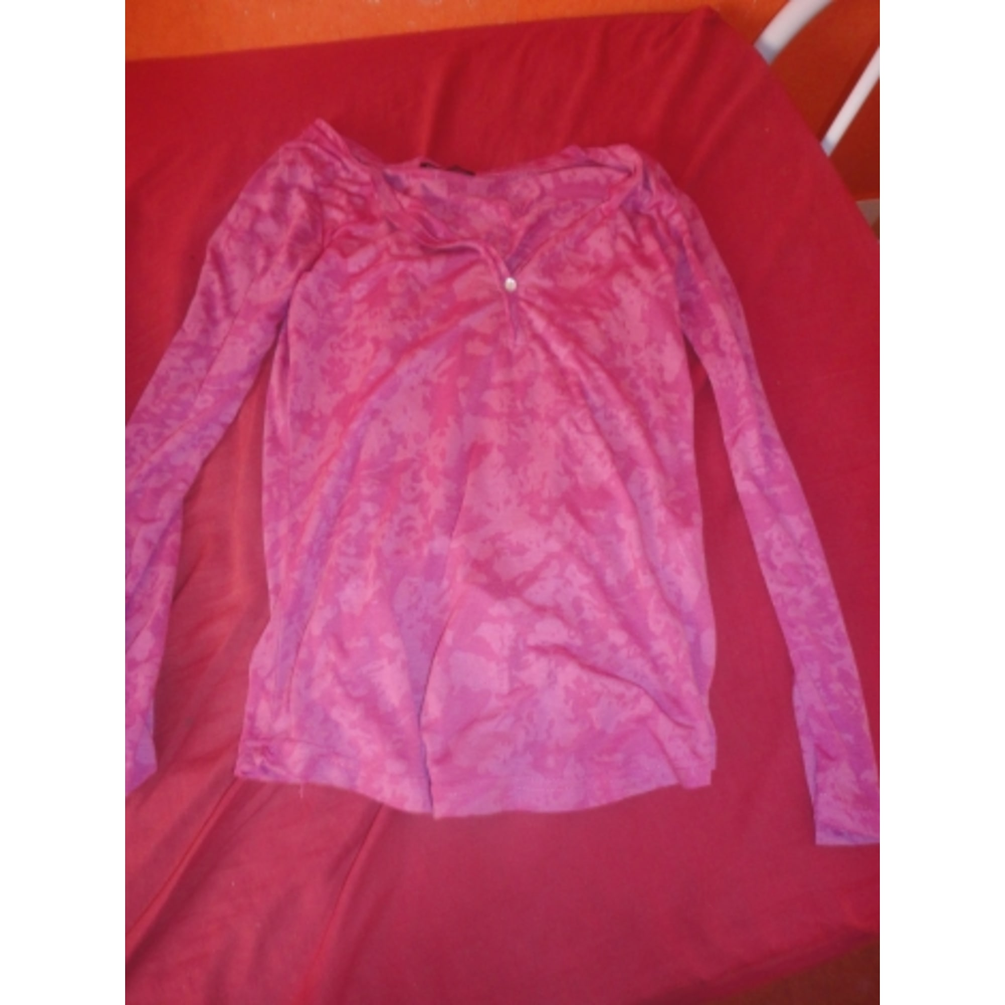 Top, tee-shirt 3 SUISSES Rose, fuschia, vieux rose