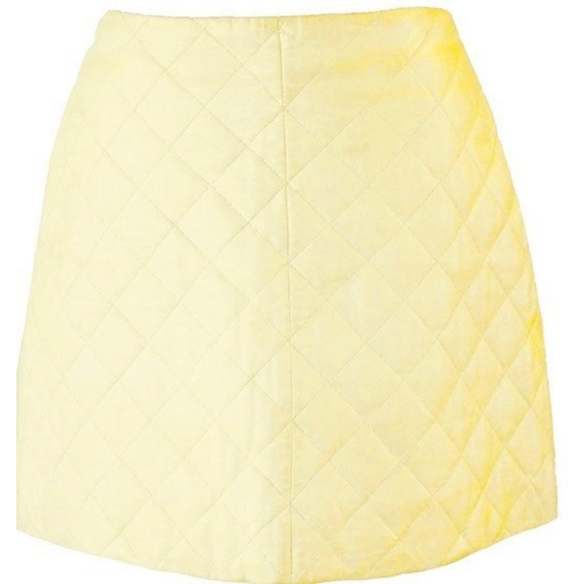 Jupe courte FLORENS Blanc, blanc cassé, écru