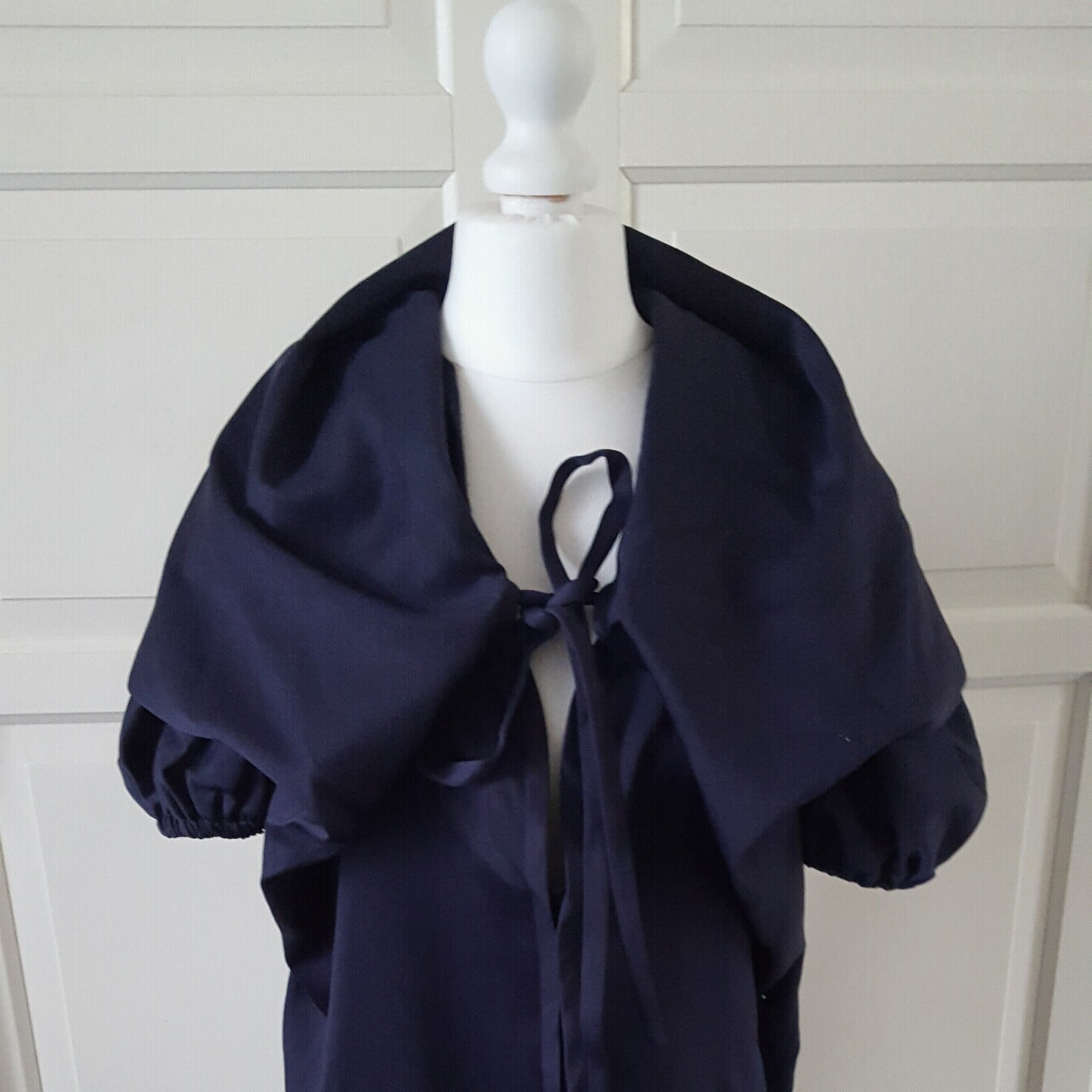 Robe courte FENDI Bleu, bleu marine, bleu turquoise