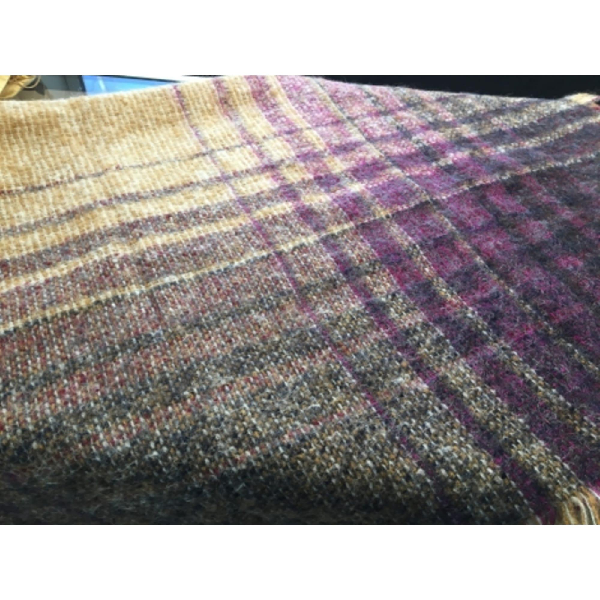 Châle HERMÈS Violet, mauve, lavande