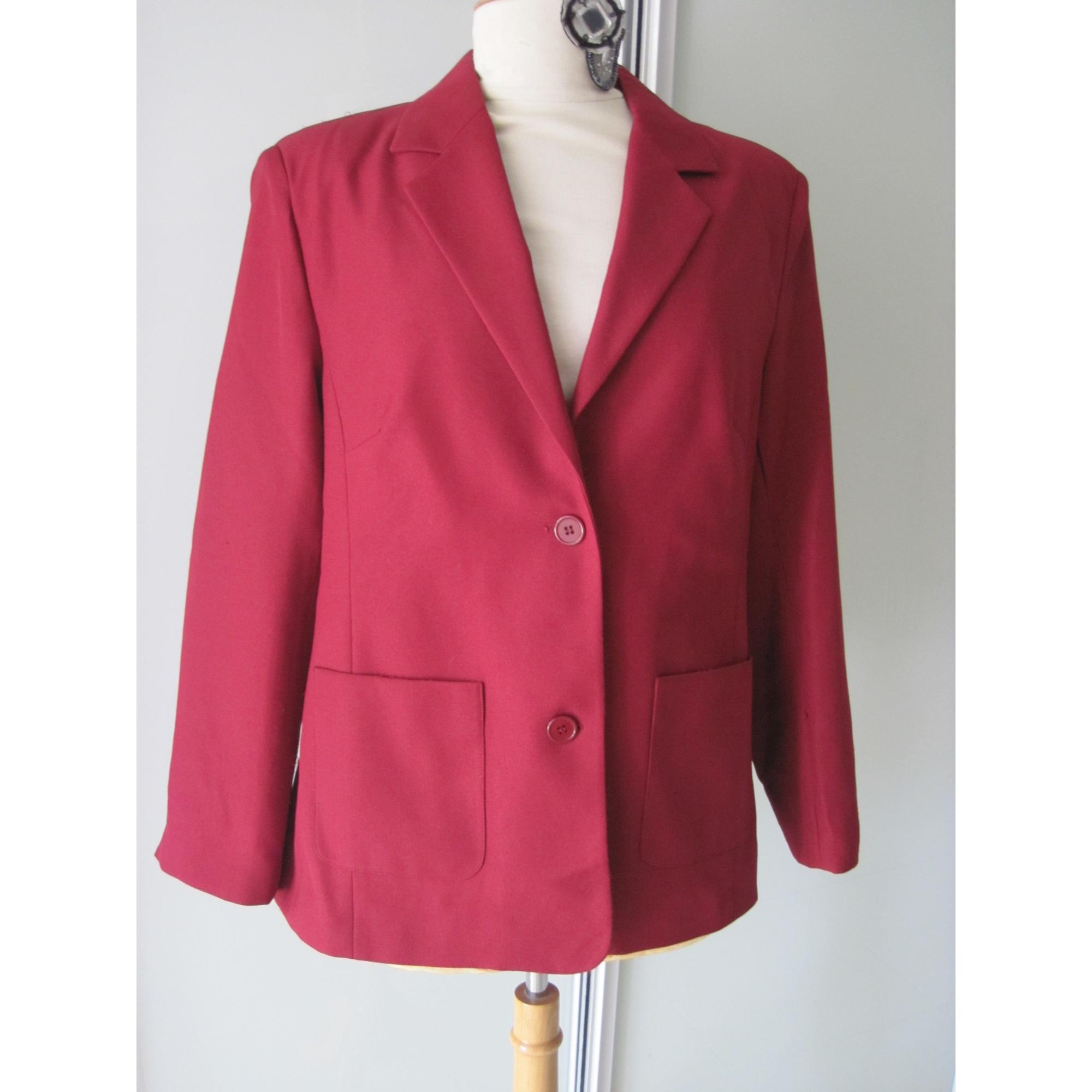 Blazer, veste tailleur DAXON Rouge, bordeaux