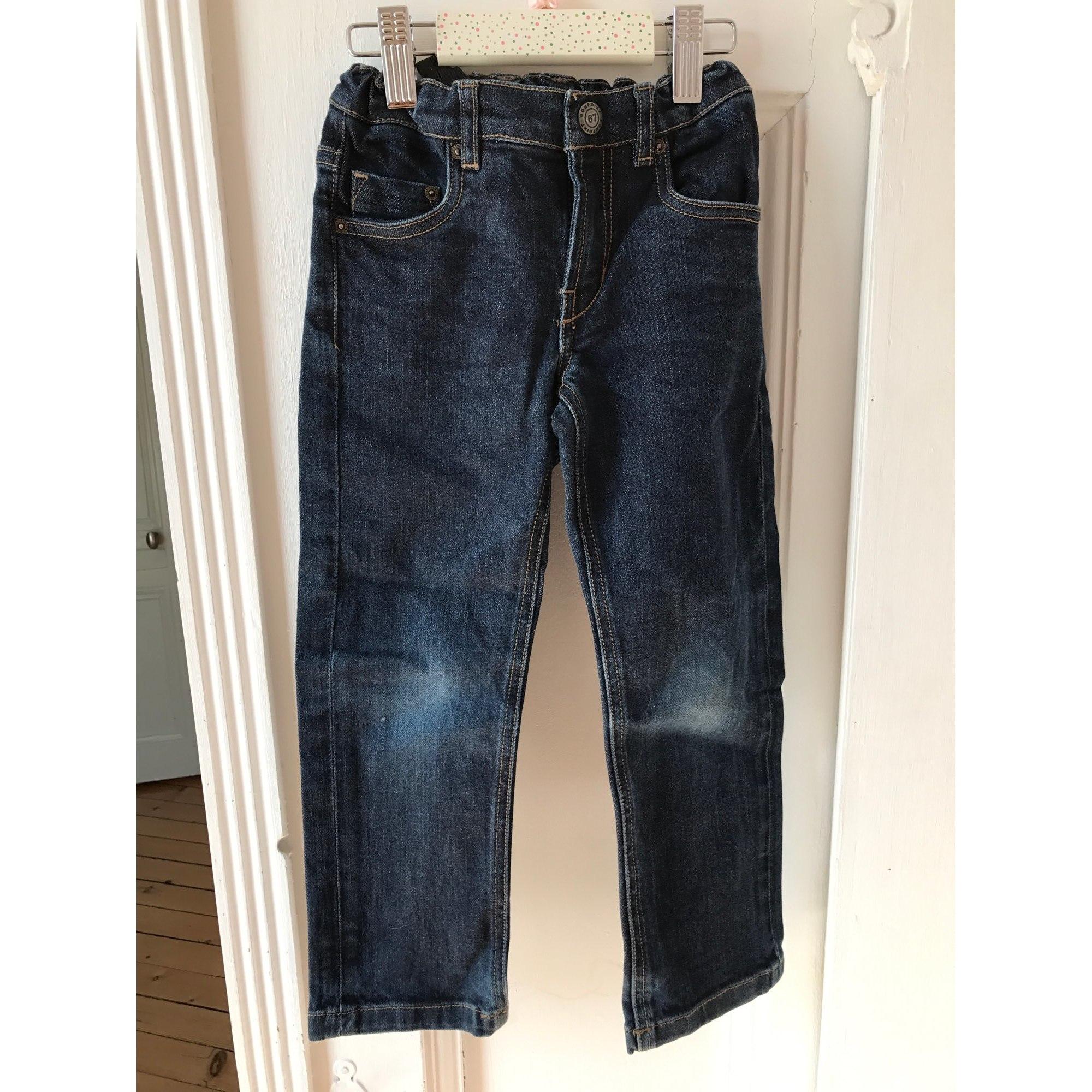 Jeans droit BONPOINT Bleu, bleu marine, bleu turquoise