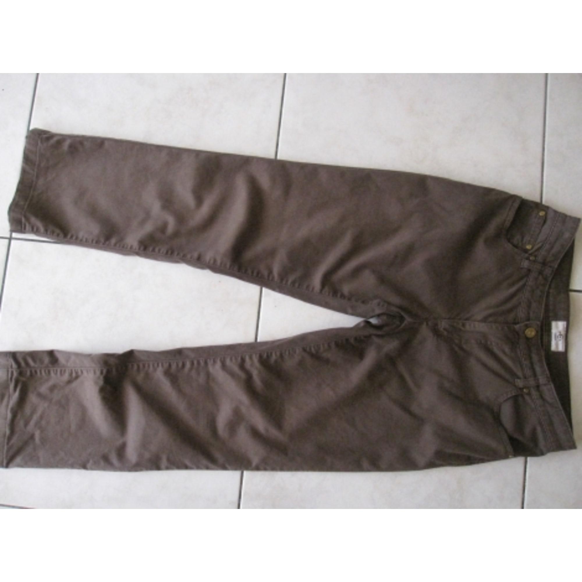 Pantalon droit CERRUTI 1881 Marron