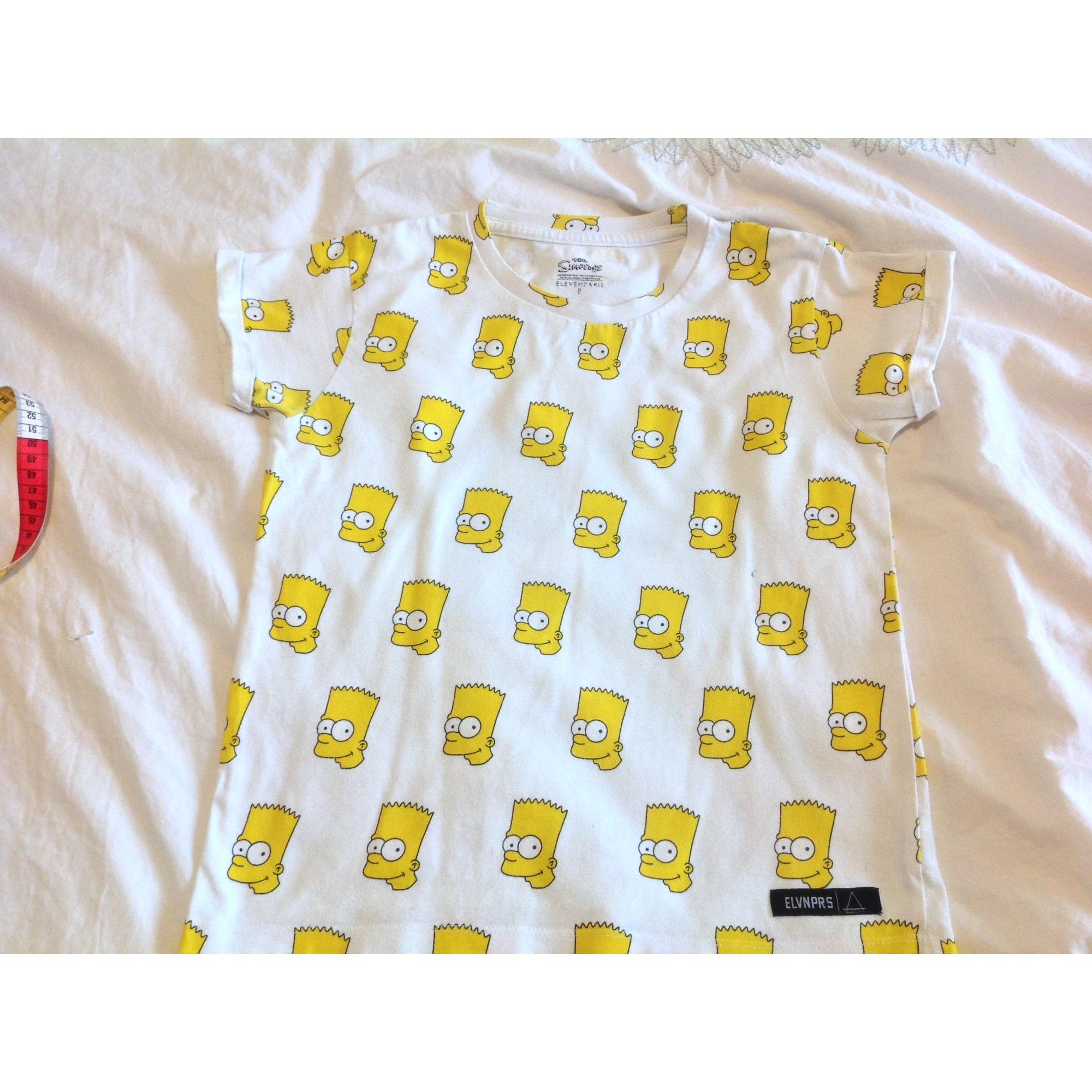 Tee-shirt LITTLE ELEVEN PARIS Jaune