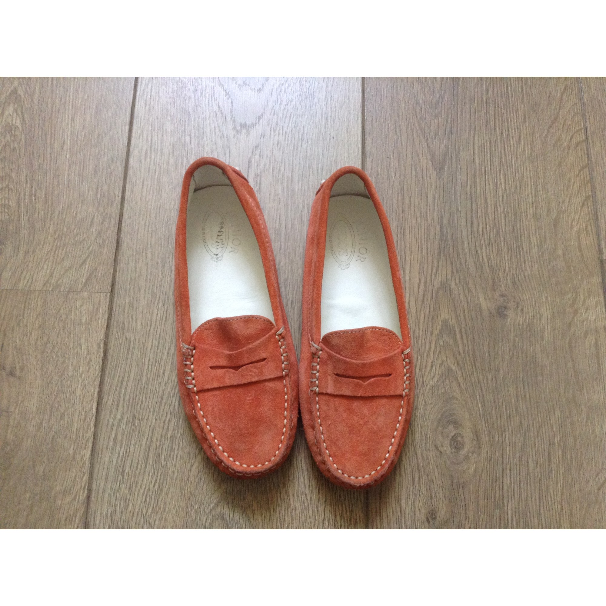 Loafers TOD'S Orange