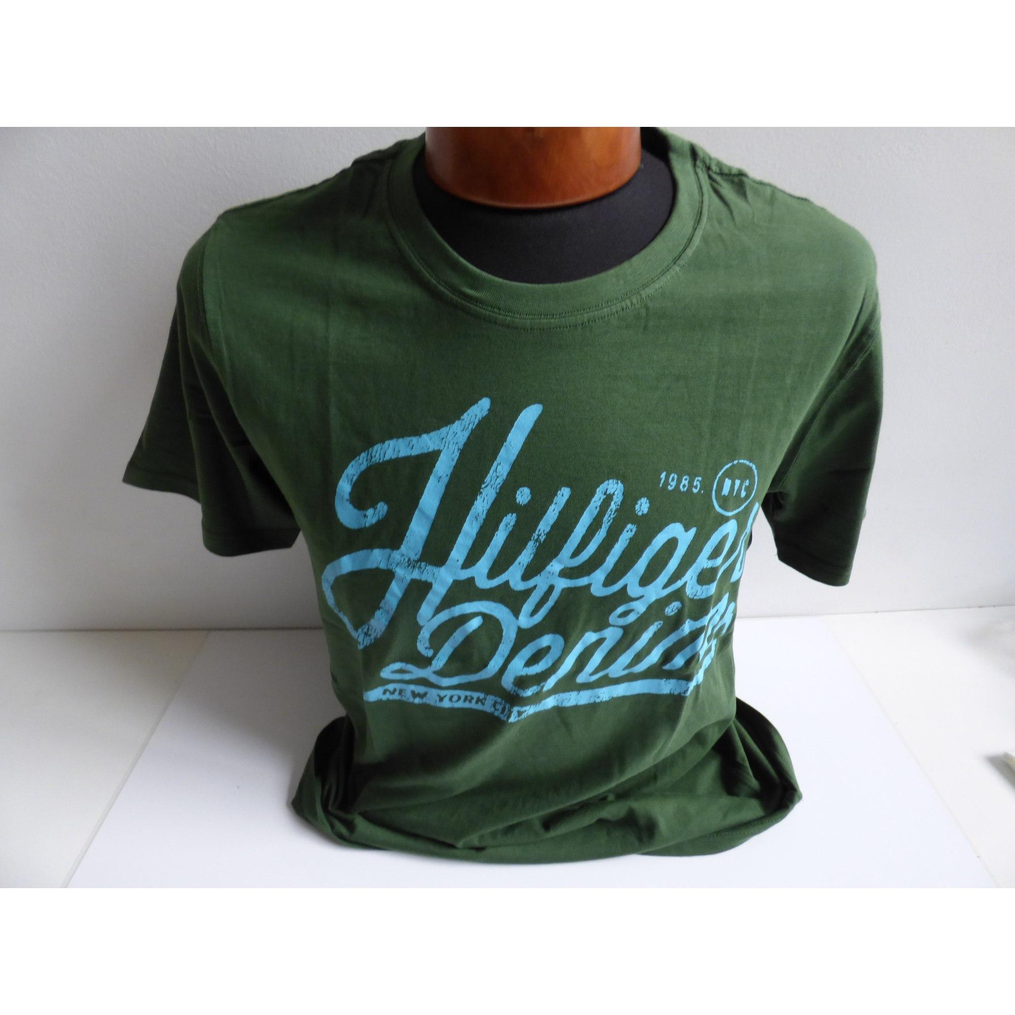 Tee-shirt TOMMY HILFIGER Vert