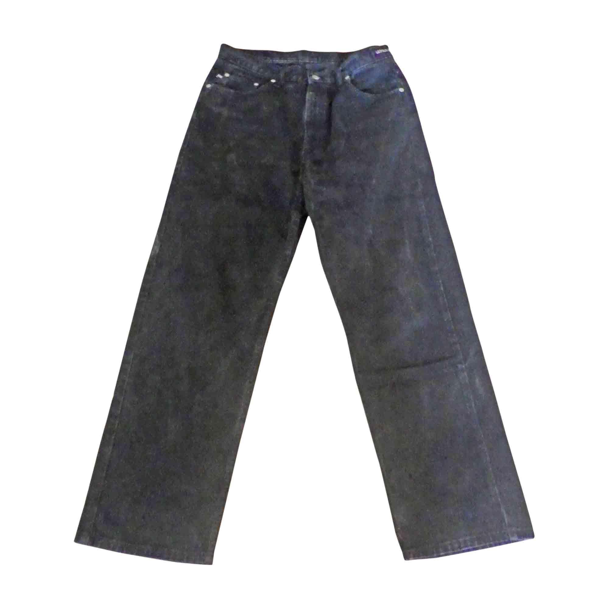 Jeans droit RALPH LAUREN Noir