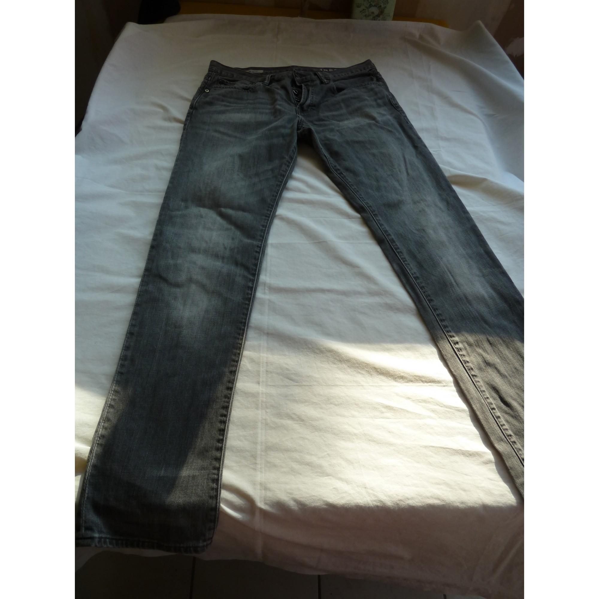 Jeans slim GAP Gris, anthracite