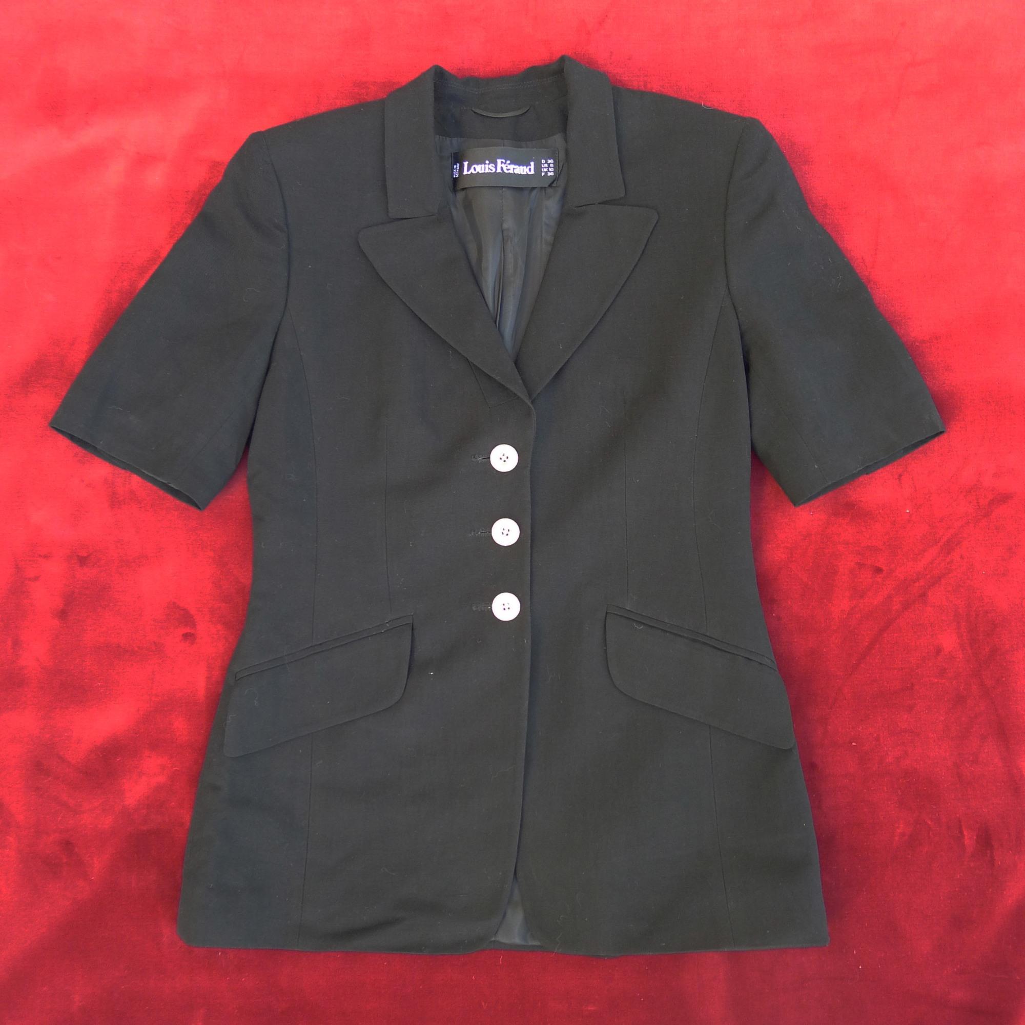 Blazer, veste tailleur LOUIS FÉRAUD Noir