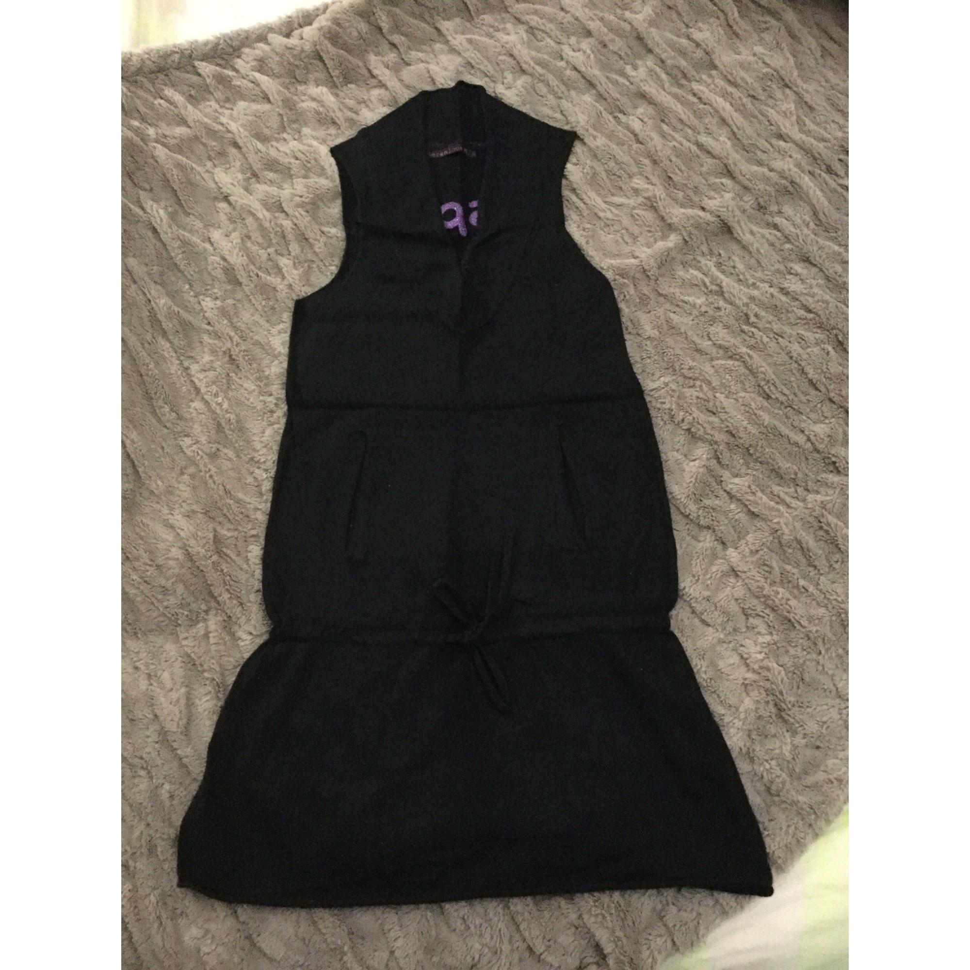 Robe courte BERENICE Noir