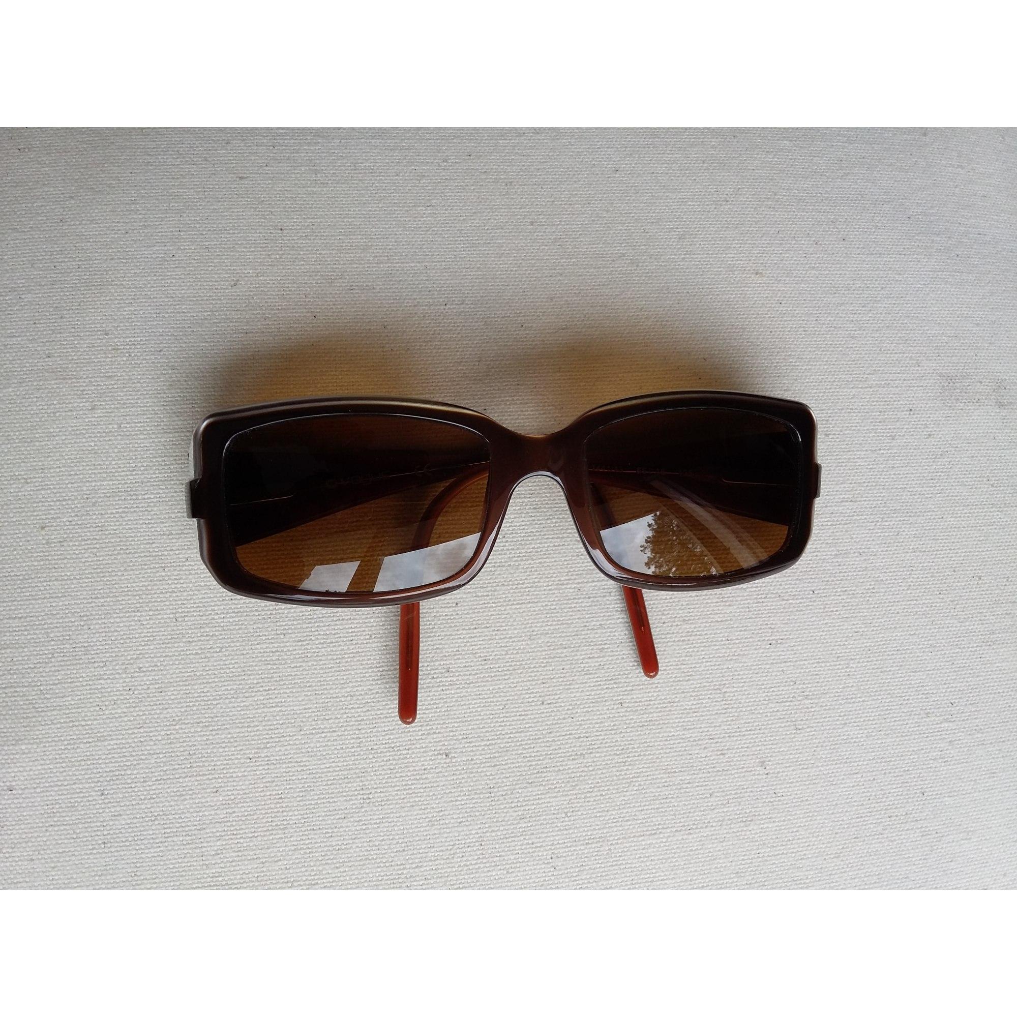 Monture de lunettes VOGUE marron avec des liseré blanc