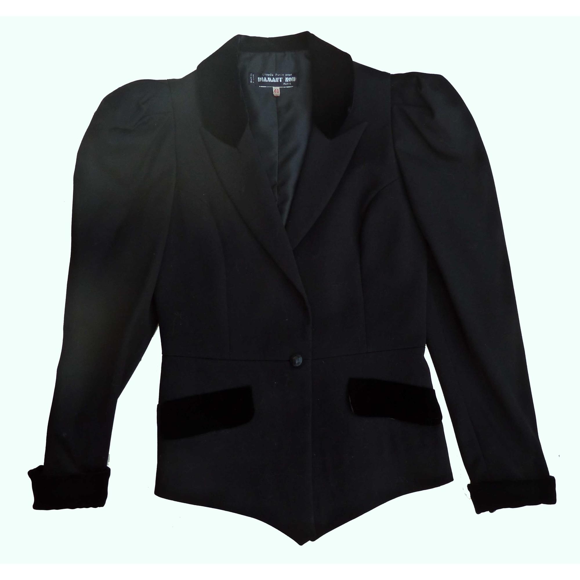 Blazer, veste tailleur DIAMANT NOIR Noir