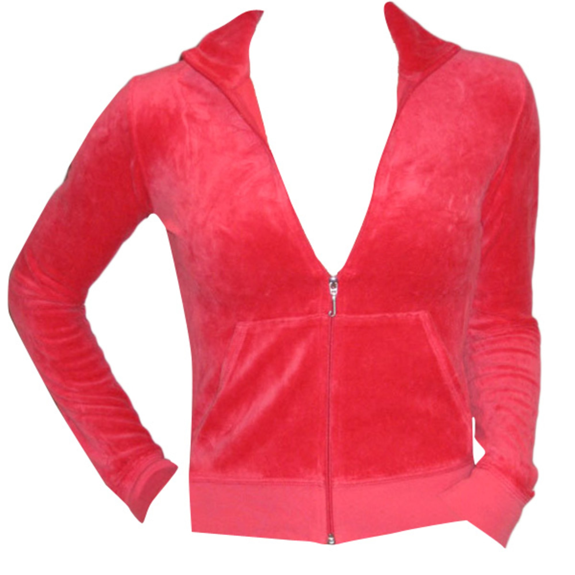 Sweat JUICY COUTURE Rose, fuschia, vieux rose