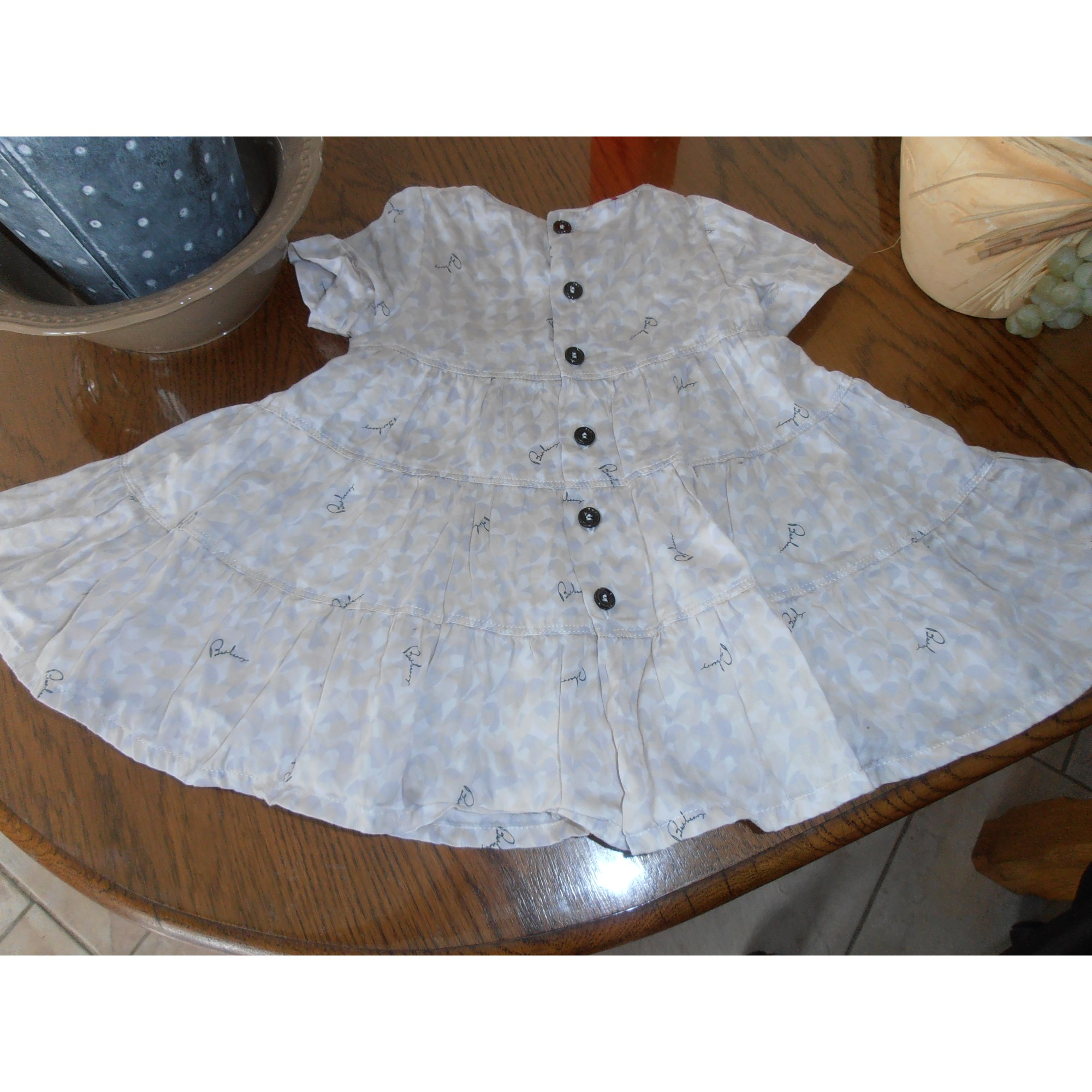 Robe BURBERRY Multicouleur