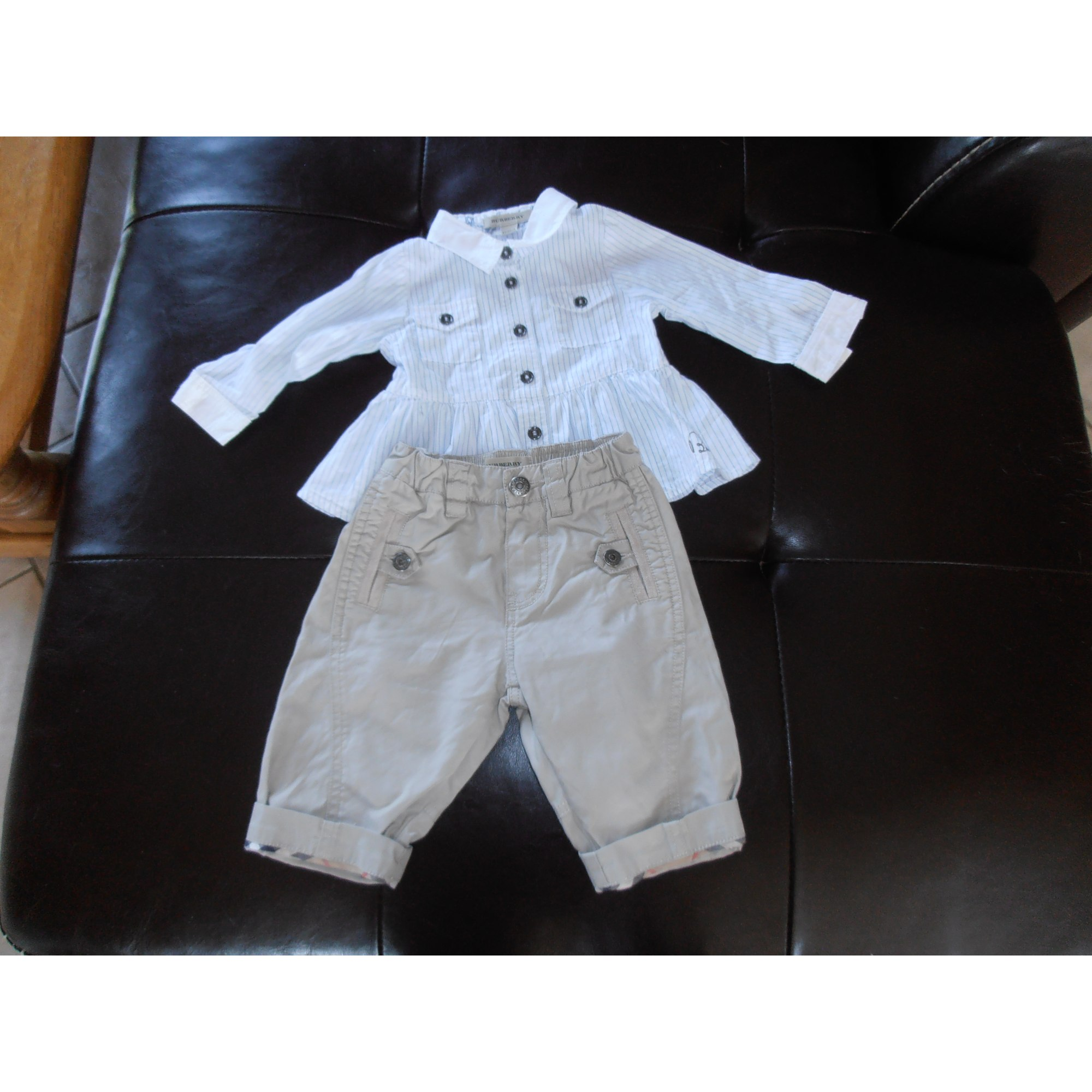 Pantalon BURBERRY Multicouleur