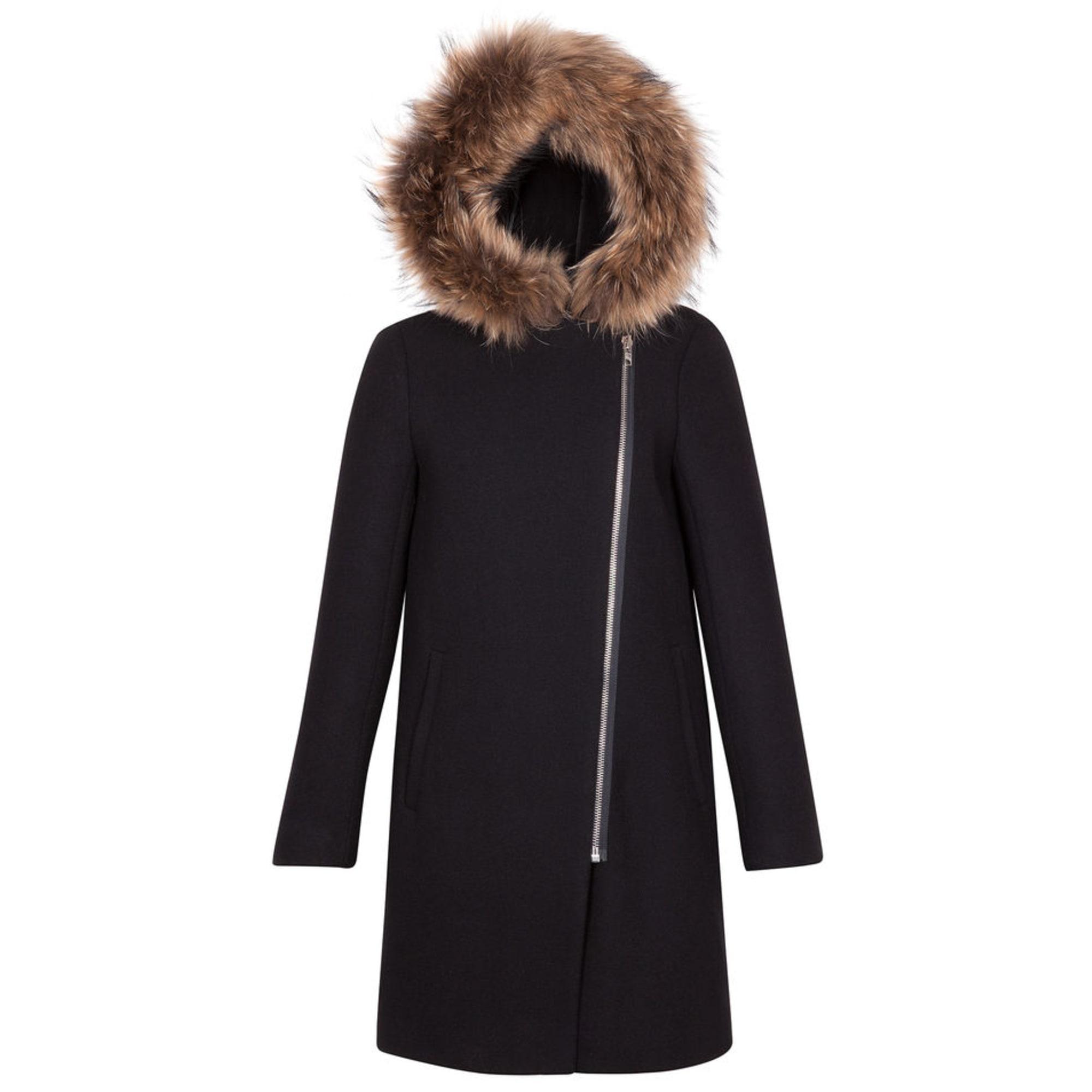 Manteau SANDRO 36 (S, T1) noir vendu par Je284524 6133559