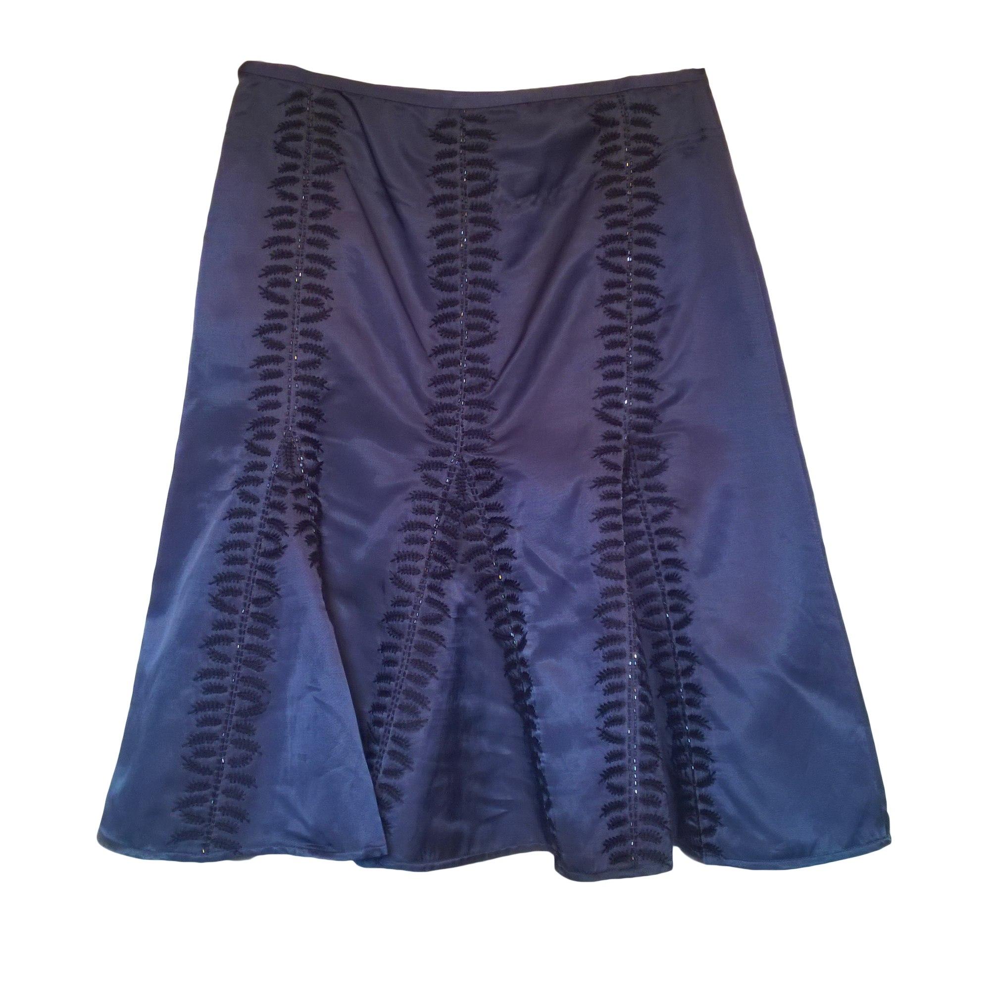 Jupe mi-longue ESSENTIEL ANTWERP Bleu, bleu marine, bleu turquoise