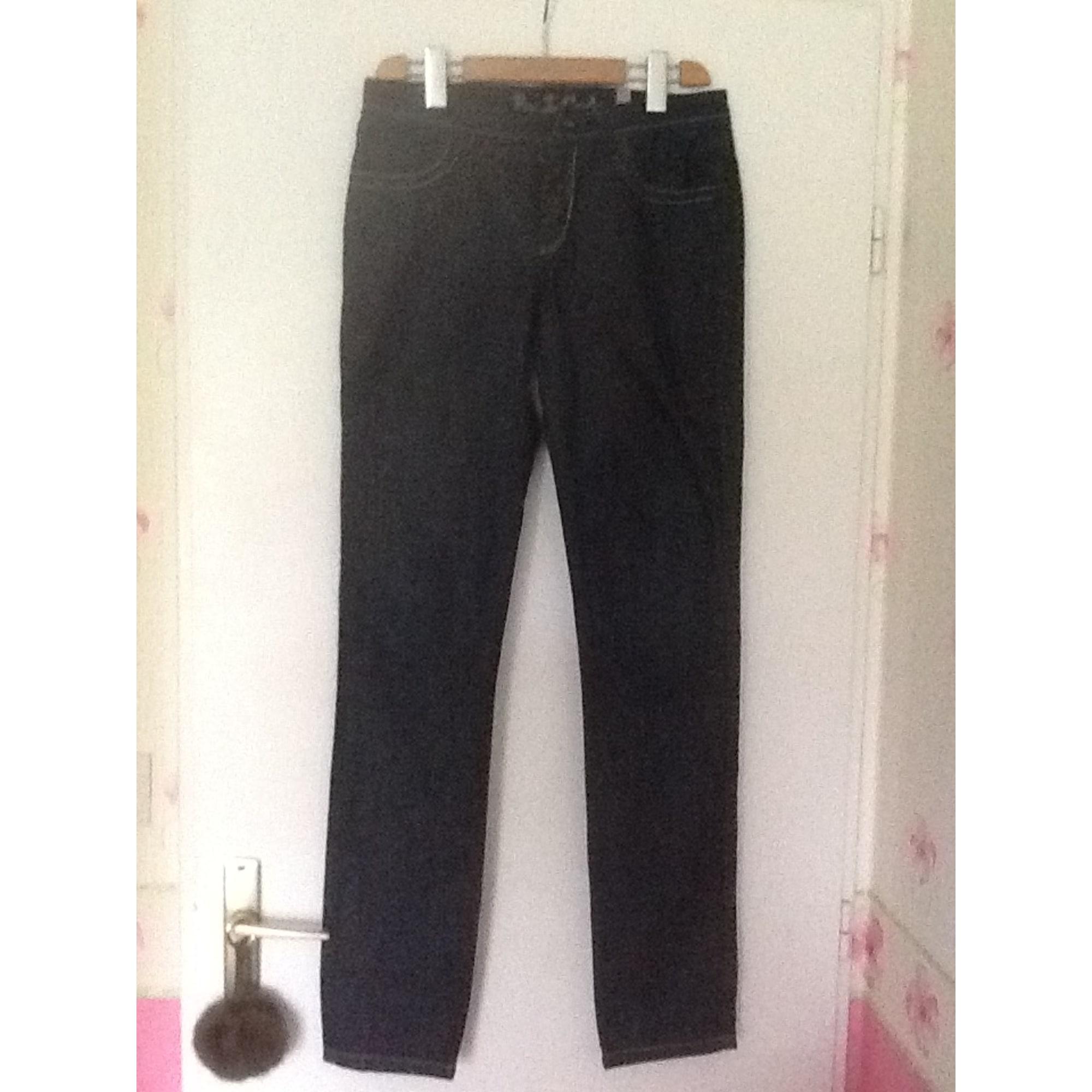 Jeans droit IKKS Jean noir