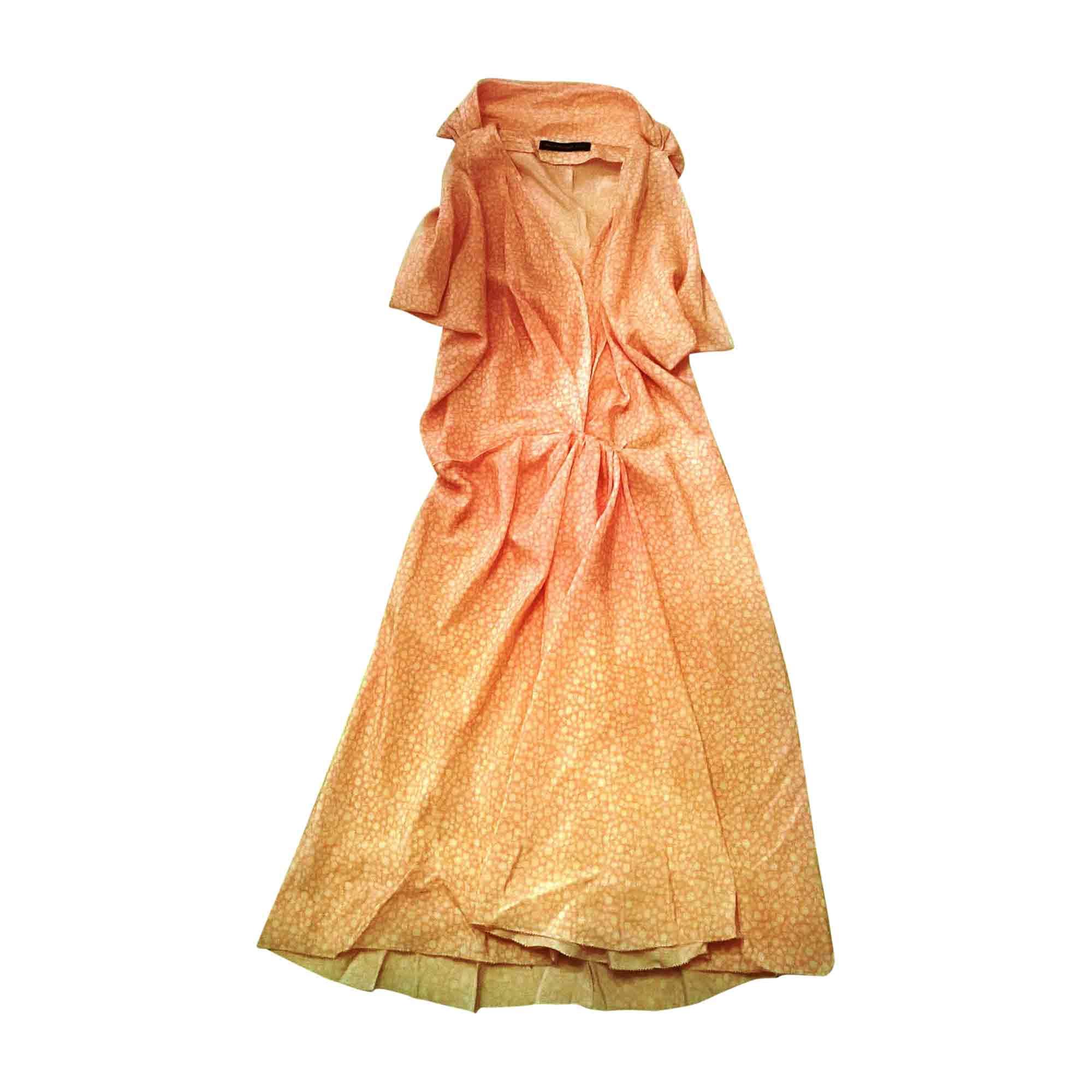 Robe mi-longue BALENCIAGA Rose, fuschia, vieux rose