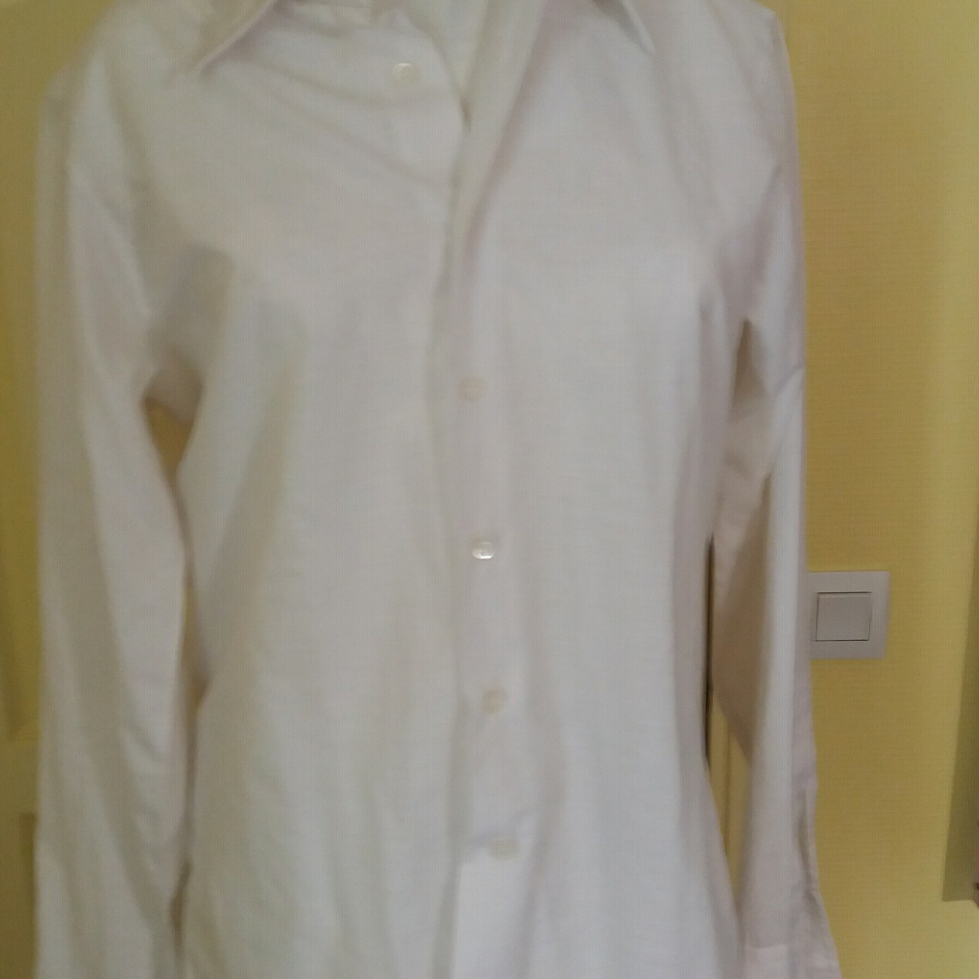Chemise DIOR Blanc, blanc cassé, écru