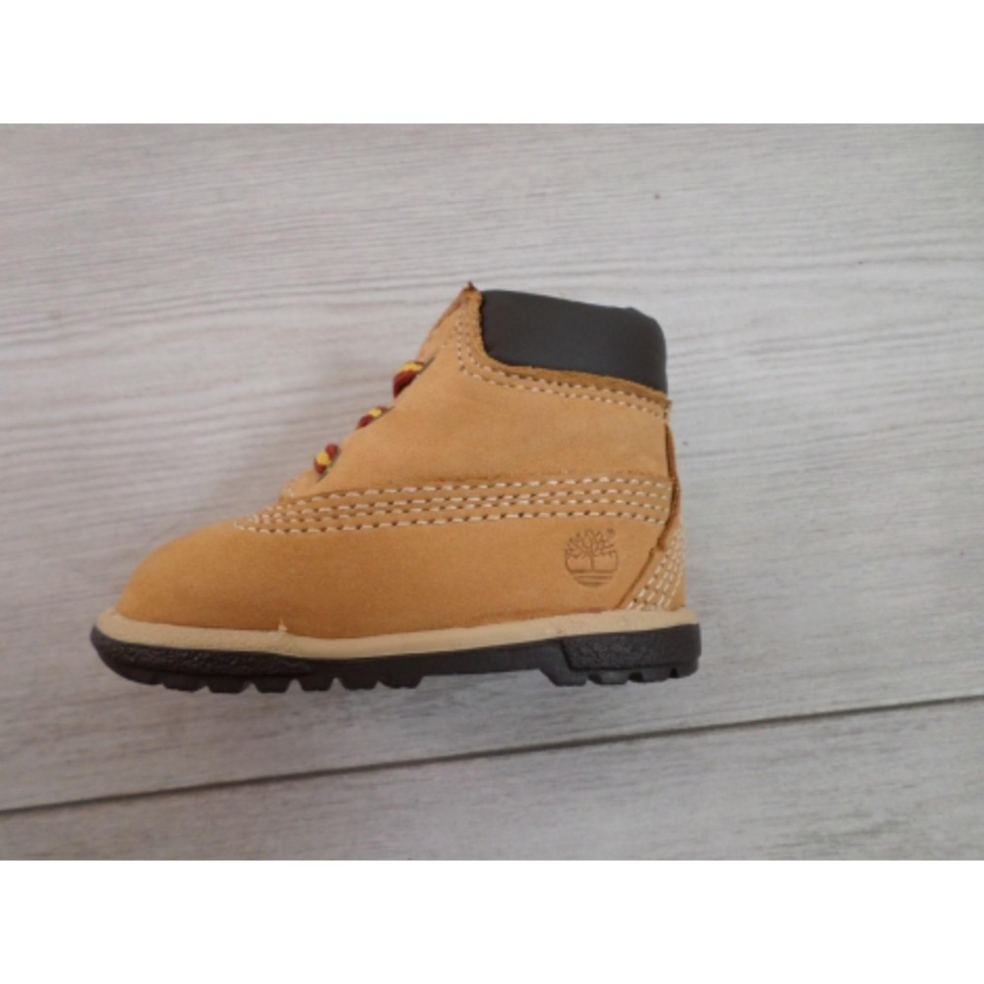 Lace Up Shoes TIMBERLAND Orange