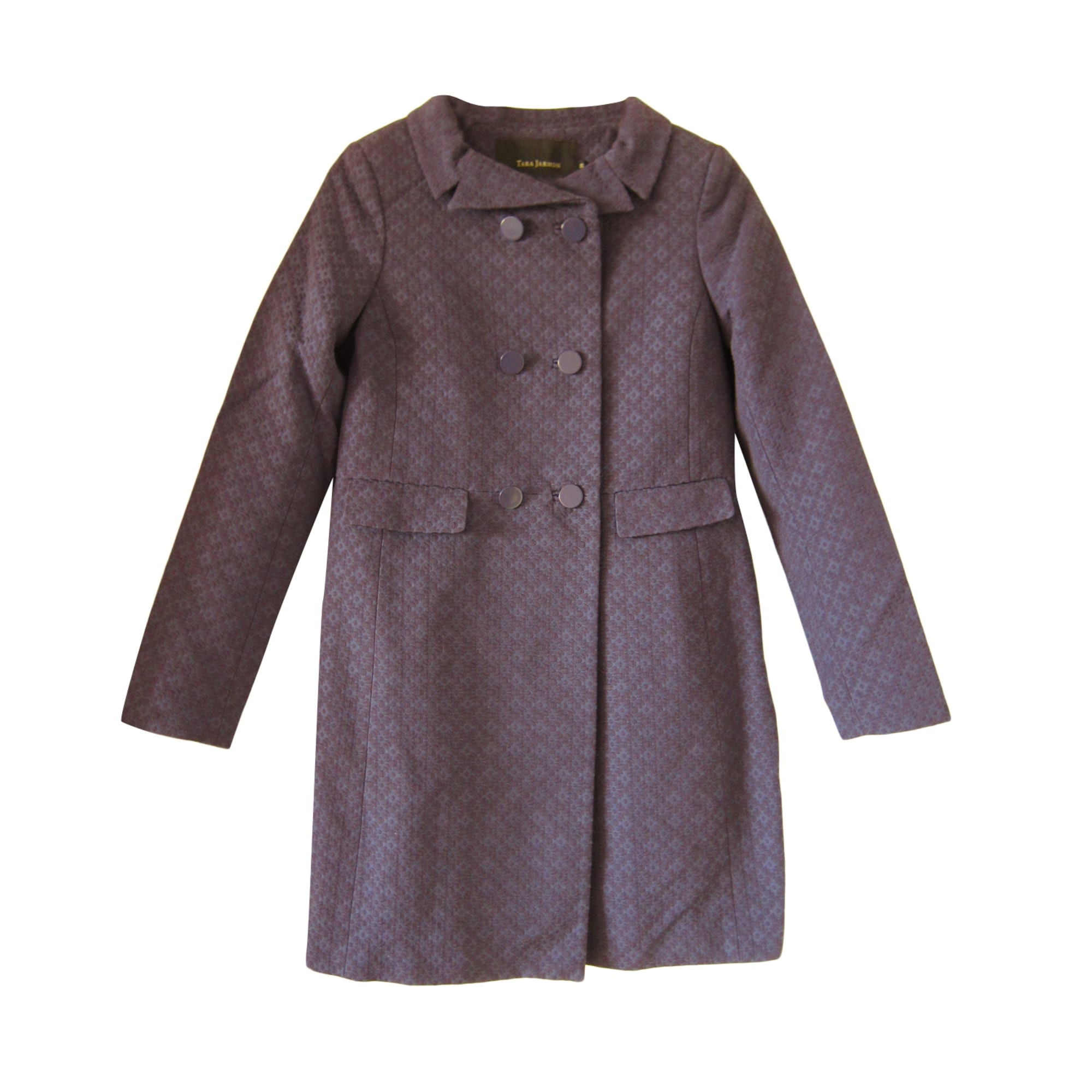 Manteau TARA JARMON Violet, mauve, lavande