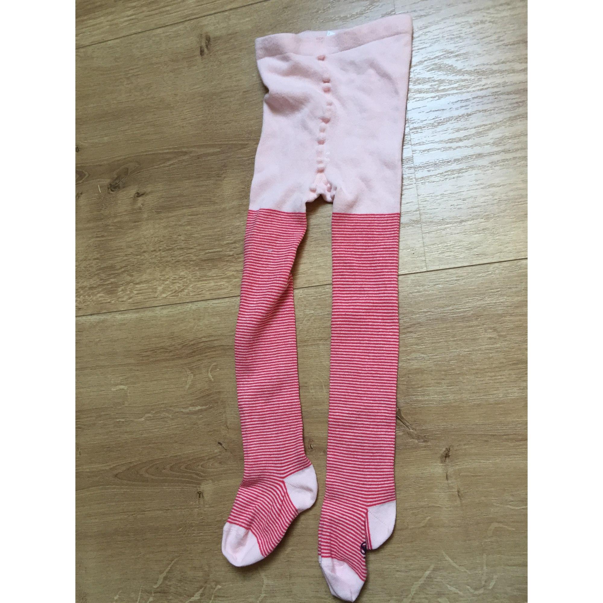 Tights PETIT BATEAU Pink, fuchsia, light pink